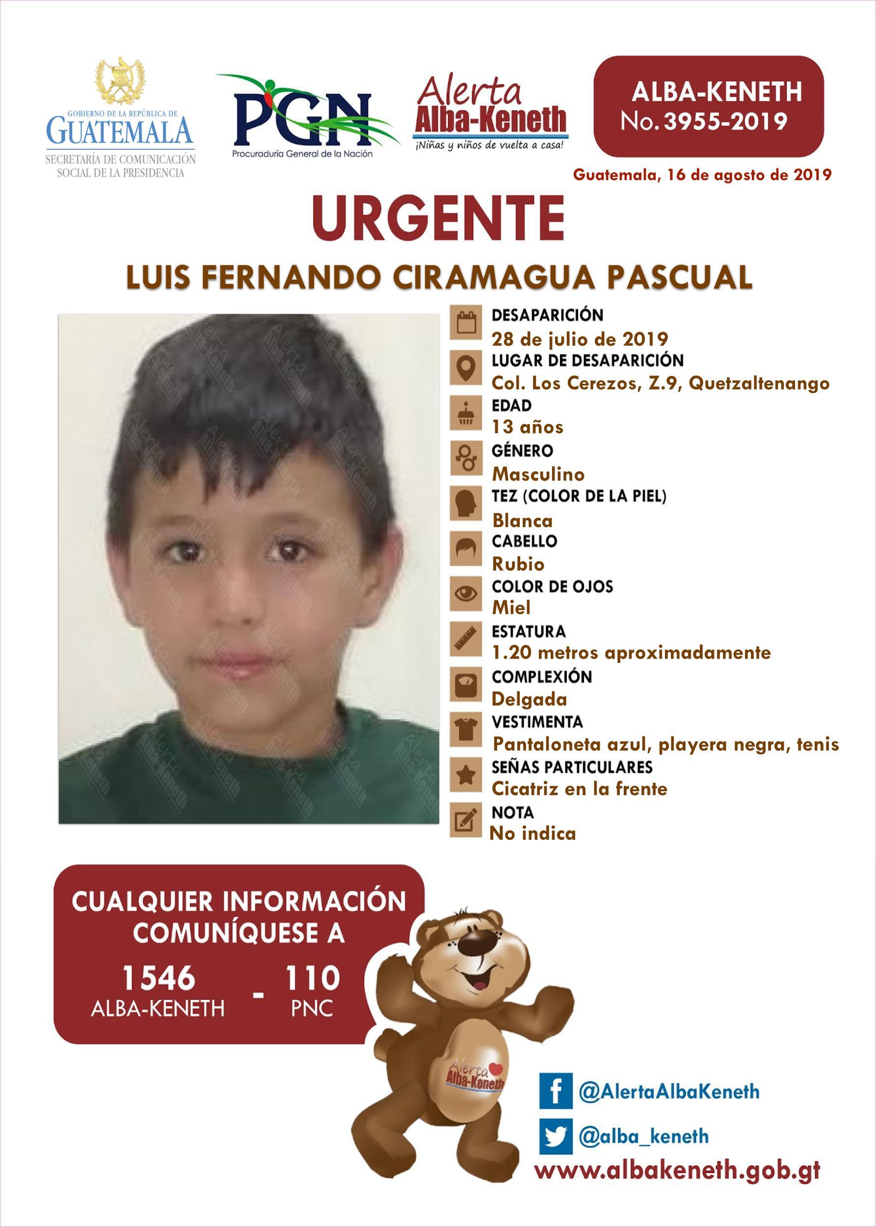 Luis Fernando Ciramagua Pascual