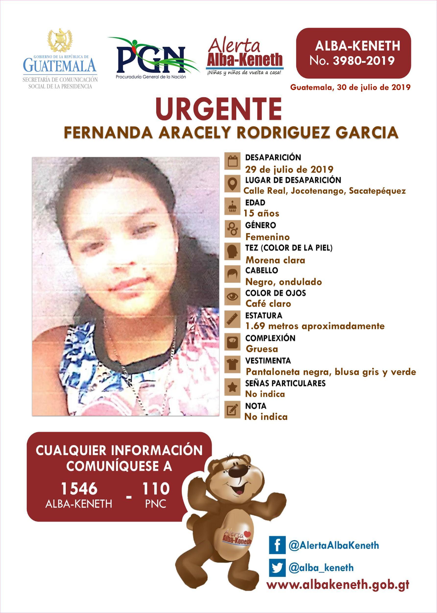 Fernanda Aracely Rodriguez Garcia