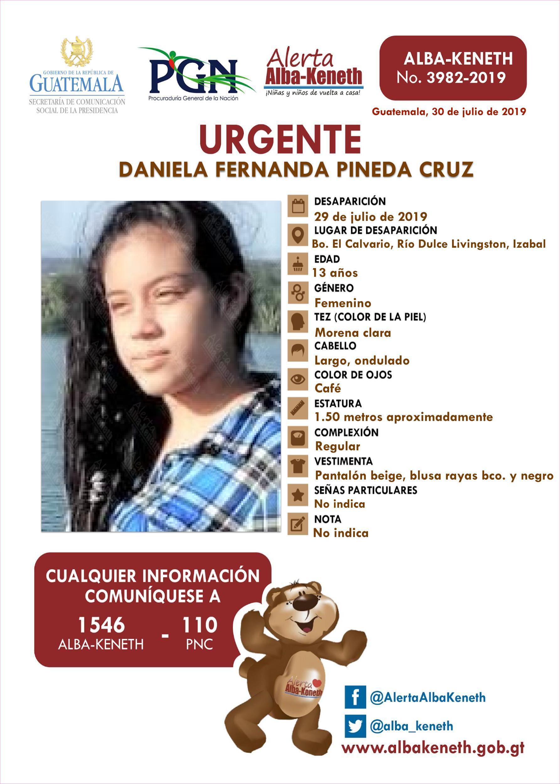Daniela Fernanda Pineda Cruz