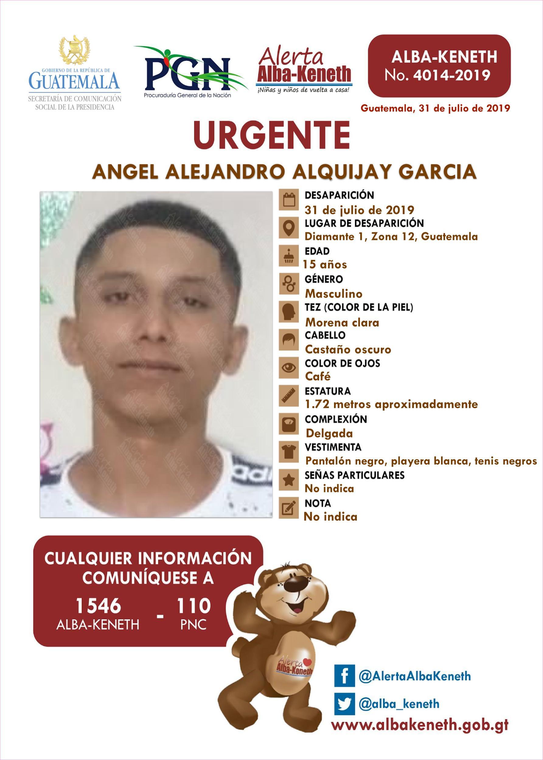 Angel Alejandro Alguijay Garcia