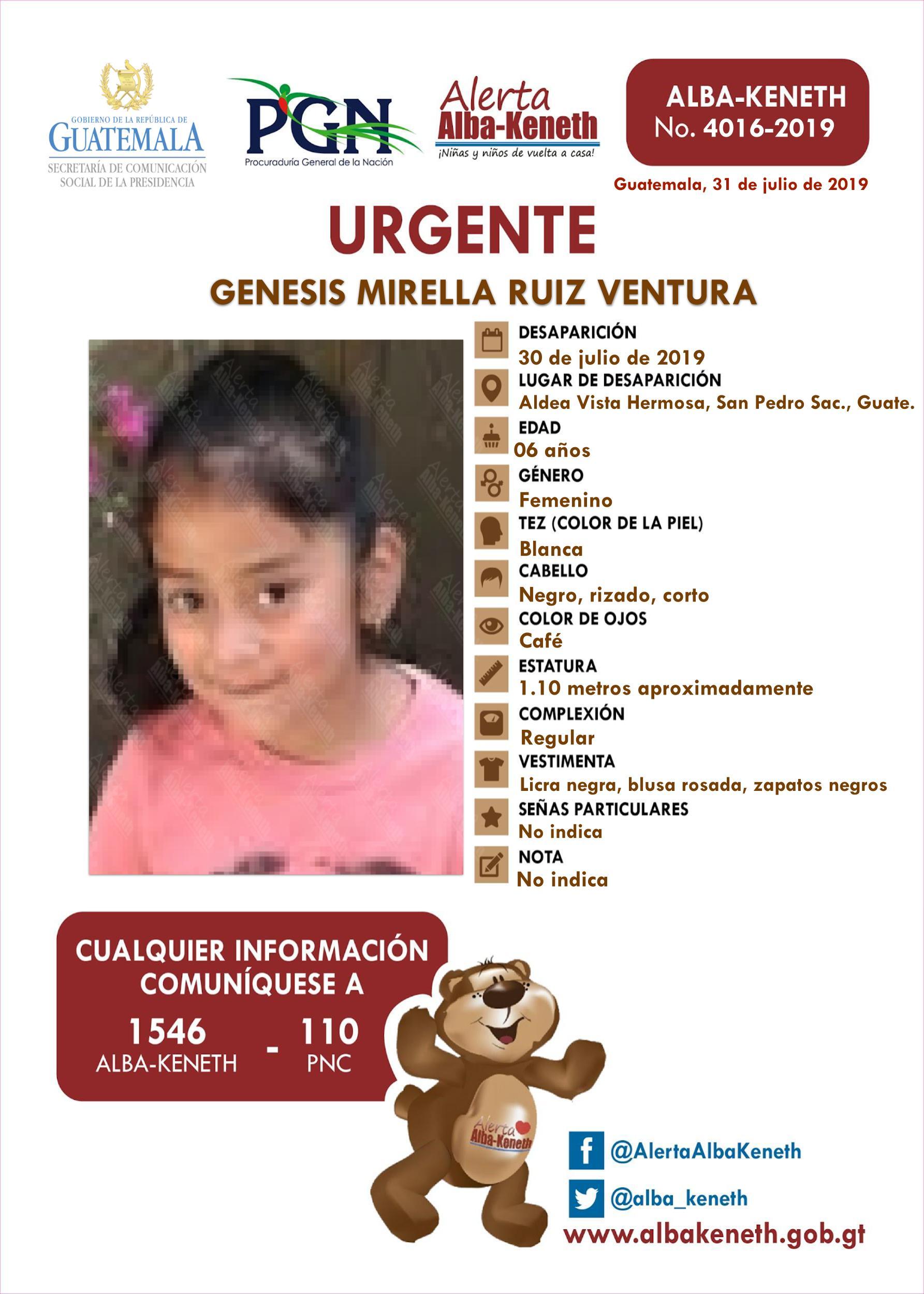 Genesis Mirella Ruiz Ventura