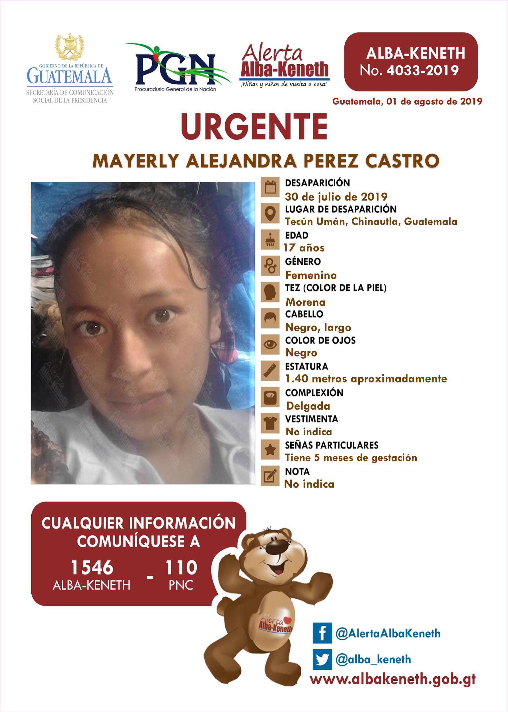 Mayerly Alejandra Perez Castro