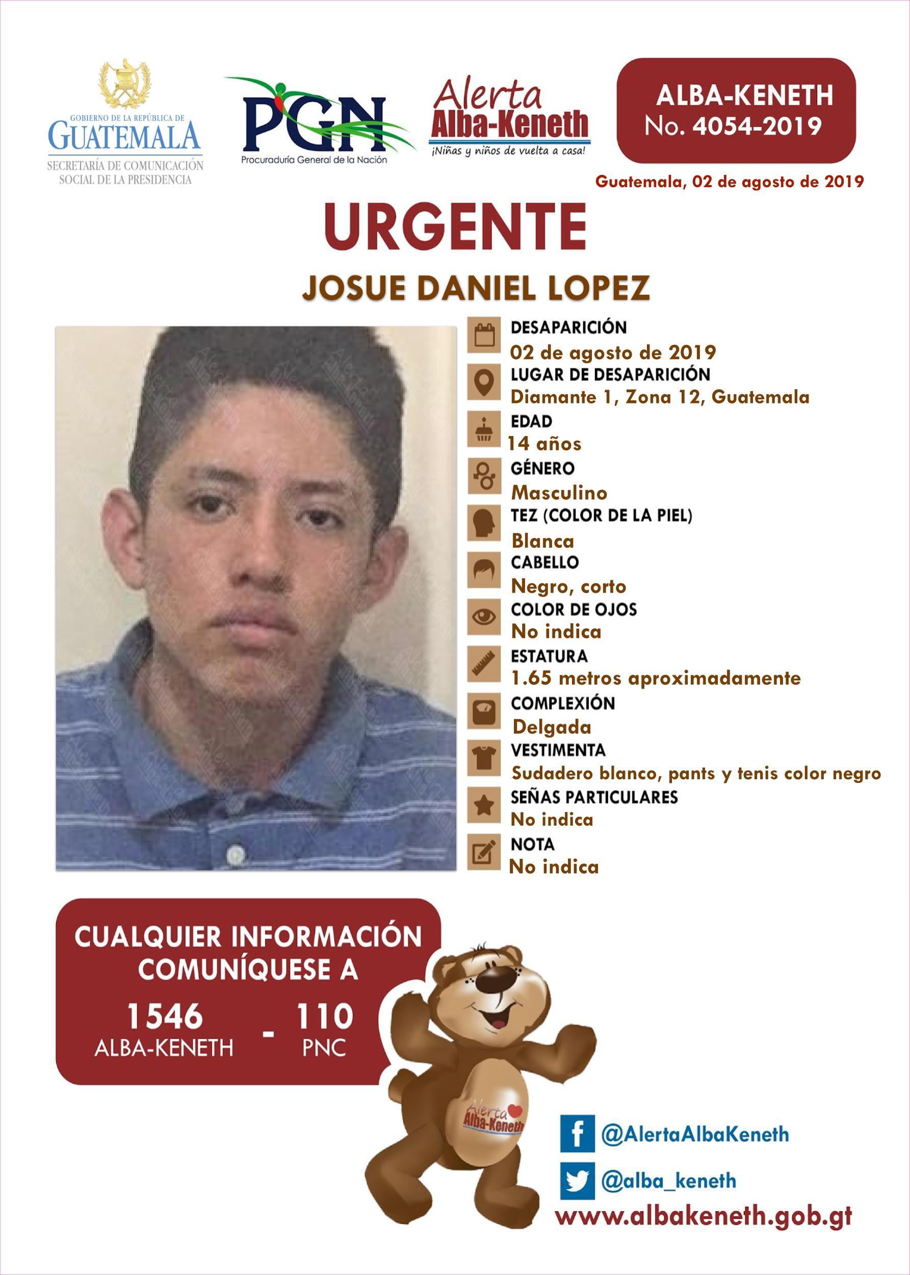 Josue Daniel Lopez