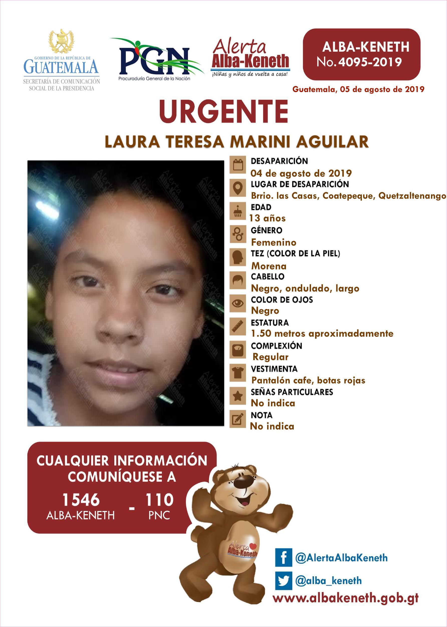Laura Teresa Marini Aguilar
