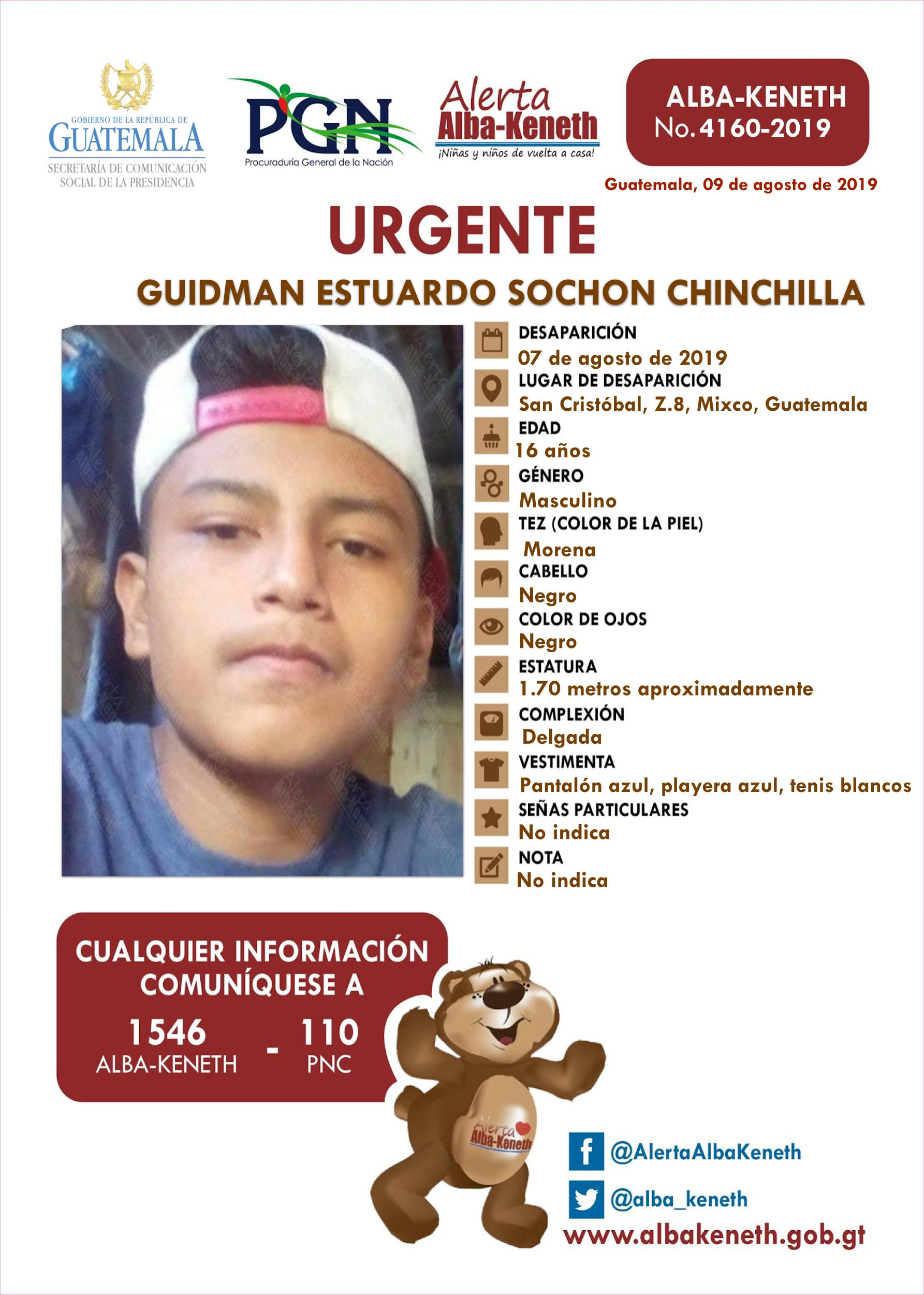 Guidman Estuardo Sochon Chinchilla
