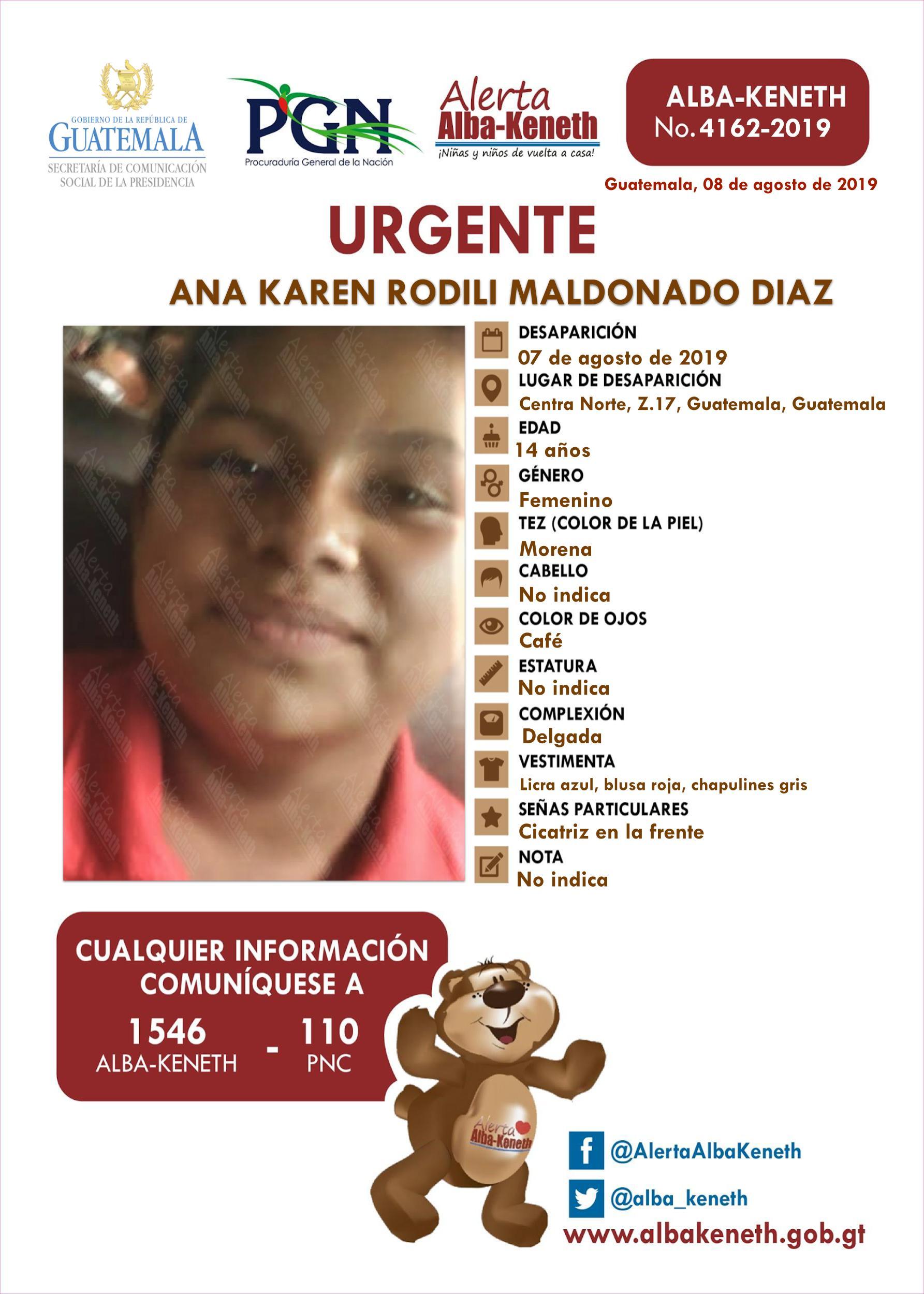 Ana Karen Rodili Maldonado Diaz