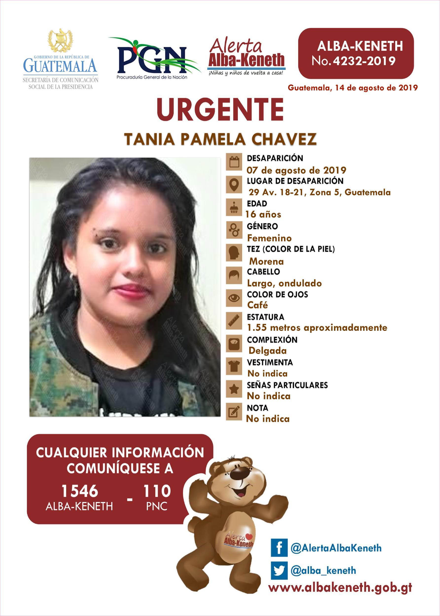 Tania Pamela Chavez
