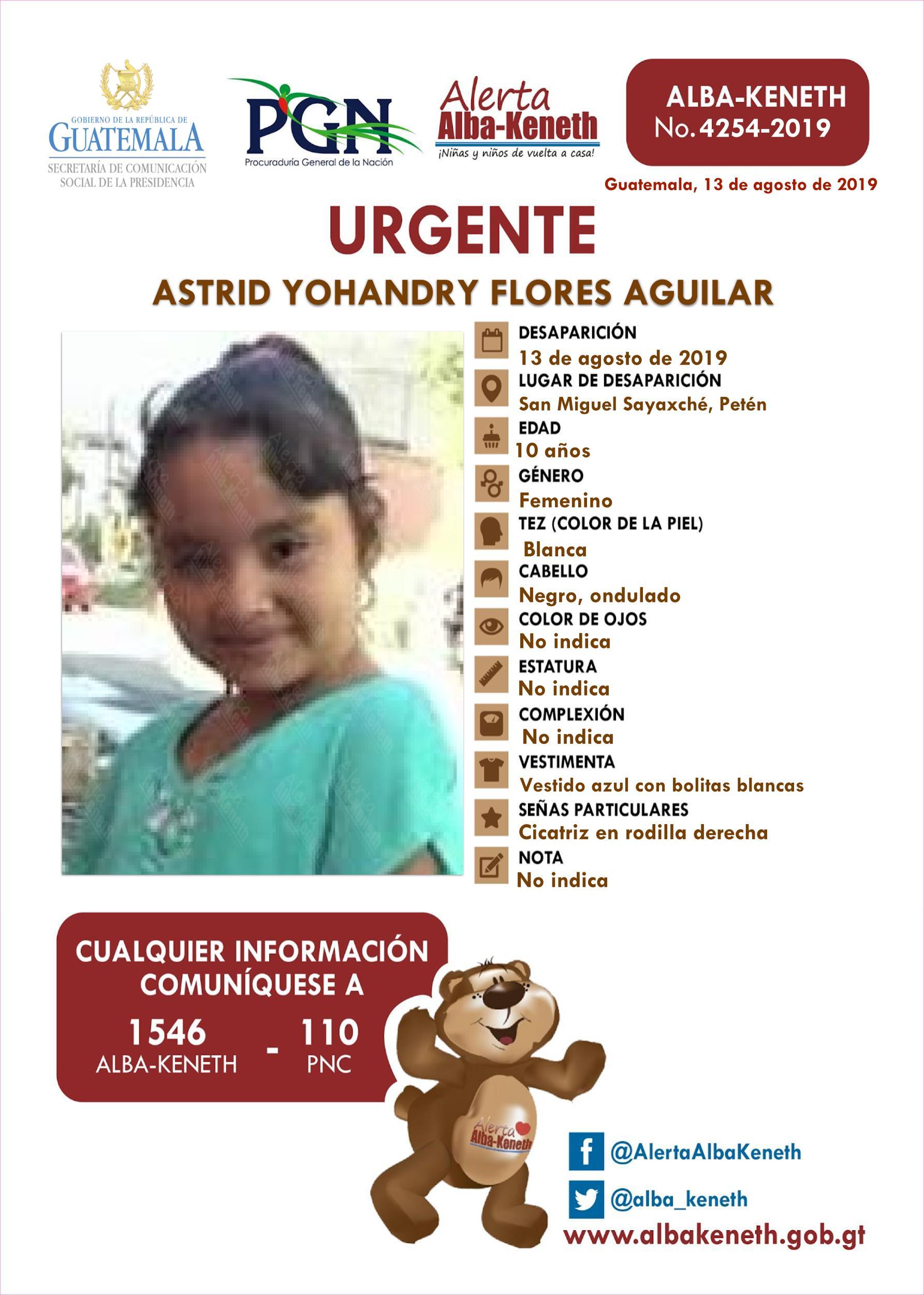 Astrid Yohandry Flores Aguilar