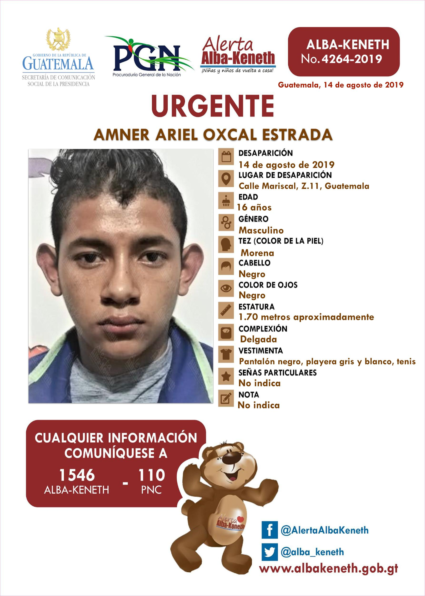 Amner Ariel Oxcal Estrada