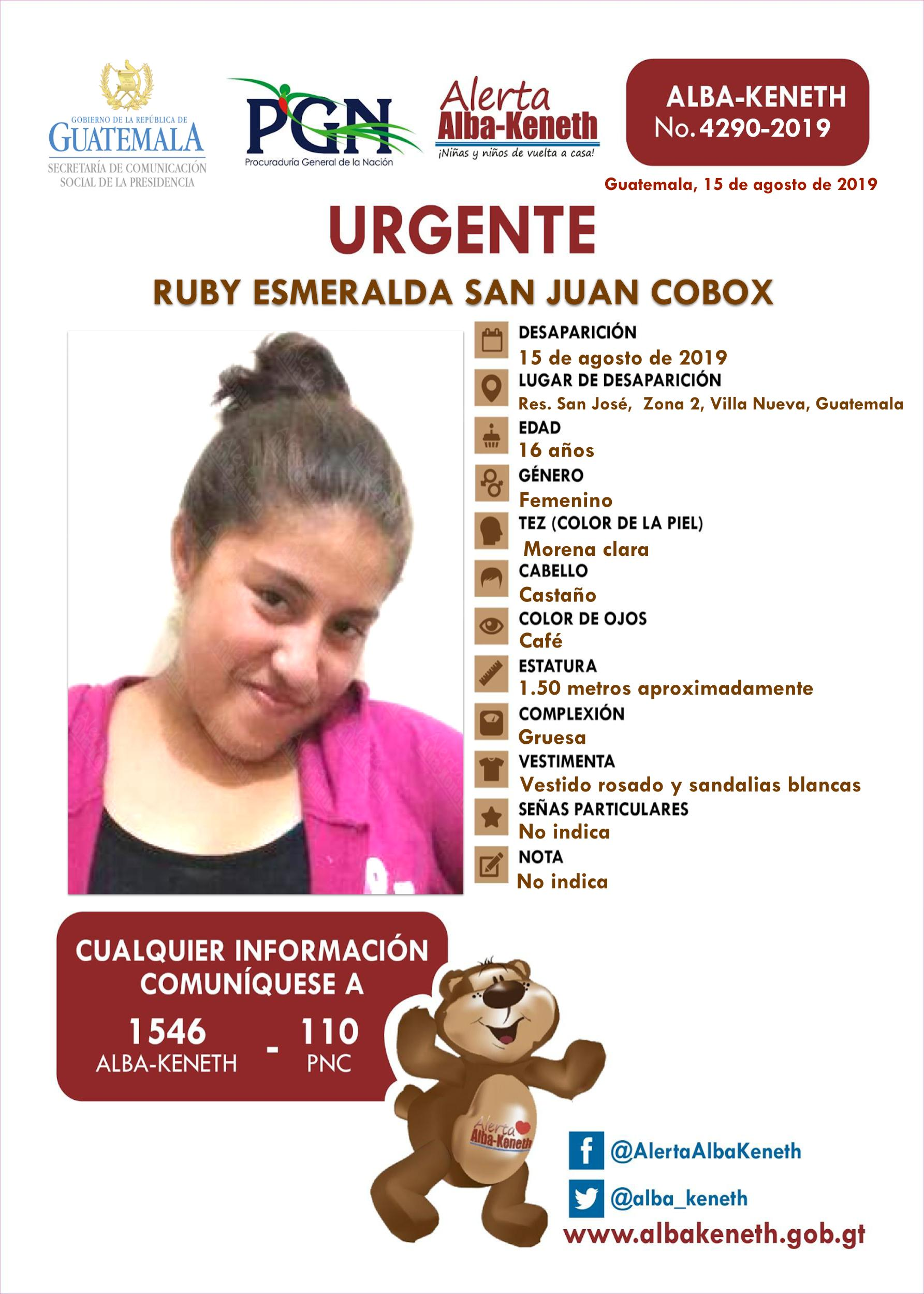 Ruby Esmeralda San Juan Cobox
