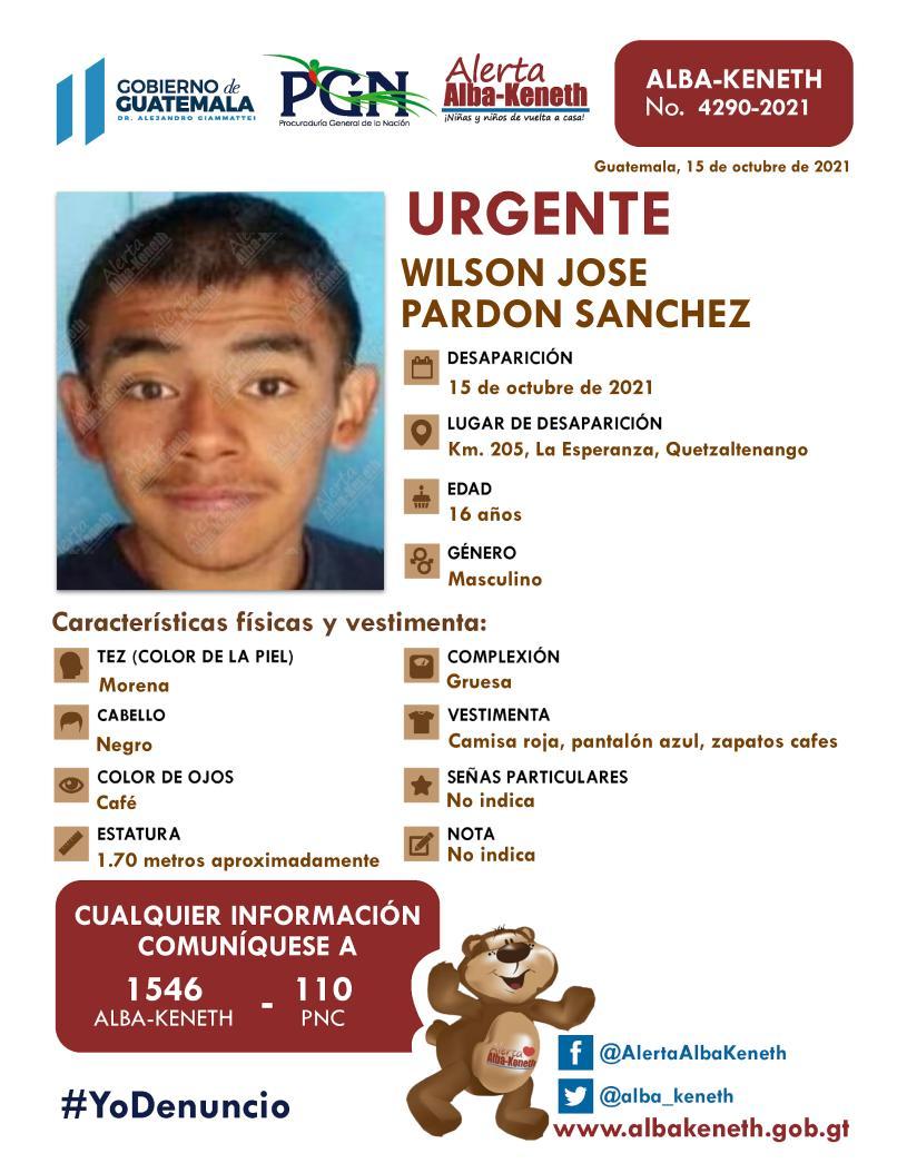 Wilson Jose Pardon Sanchez