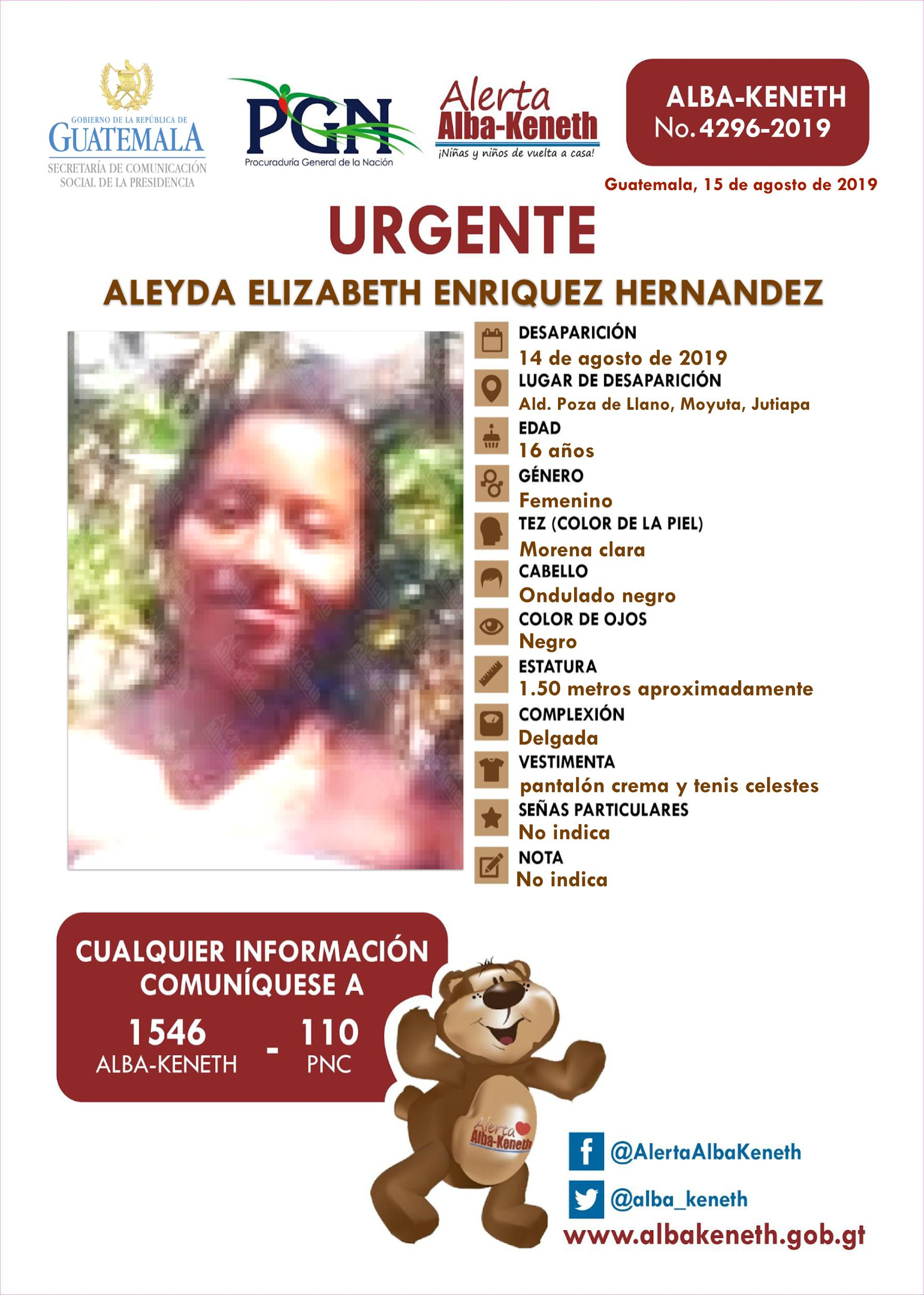 Aleyda Elizabeth Enriquez Hernandez