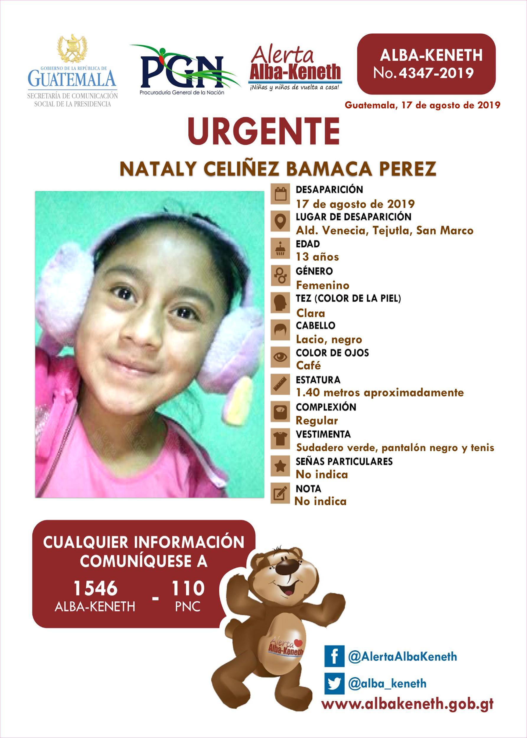 Nataly Celiñez Bamaca Perez