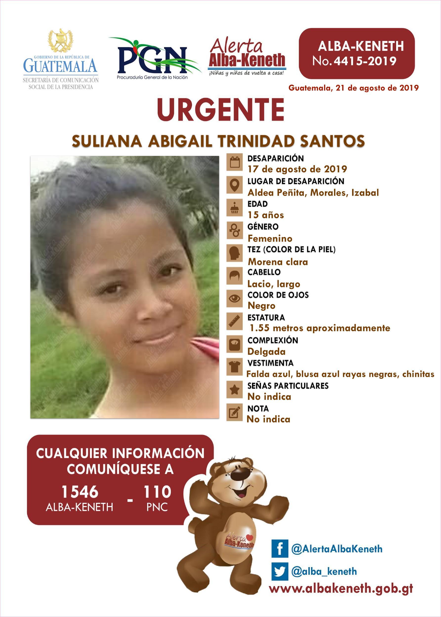 Suliana Abigail Trinidad Santos