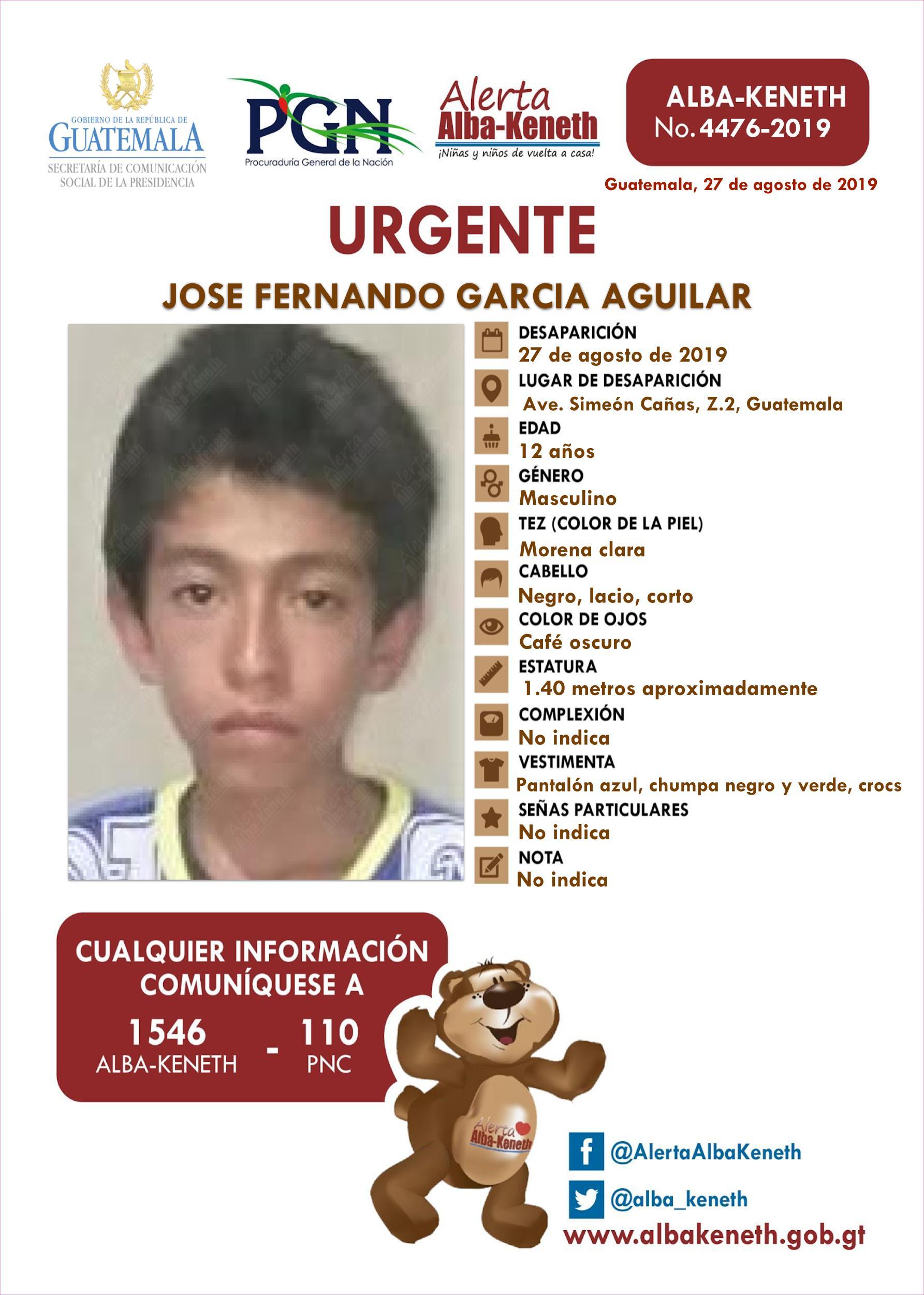 Jose Fernando Garcia Aguilar