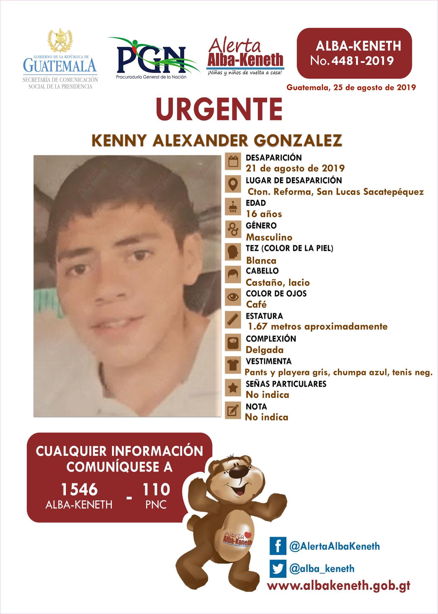Kenny Alexander Gonzalez