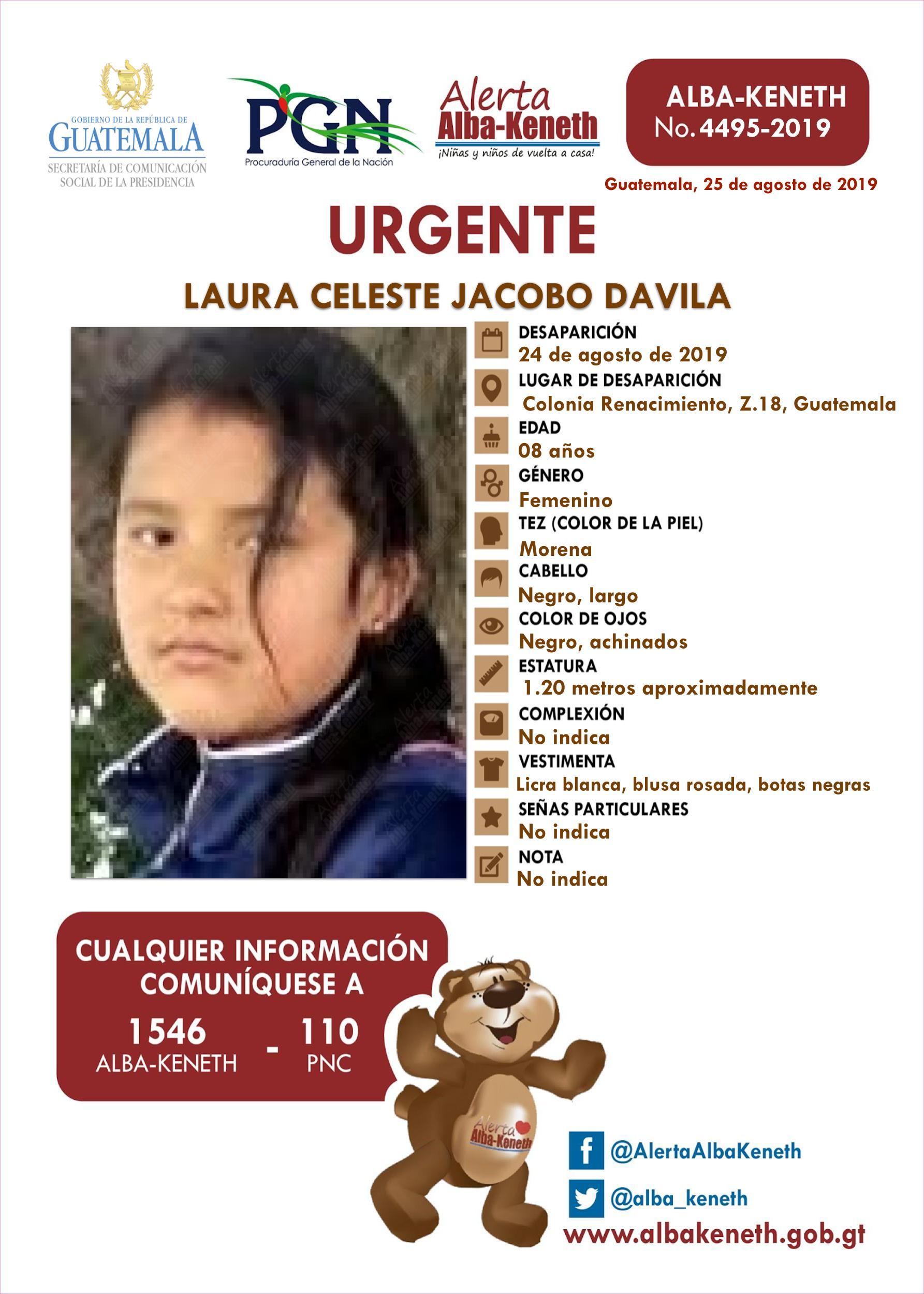 Laura Celeste Jacobo Davila