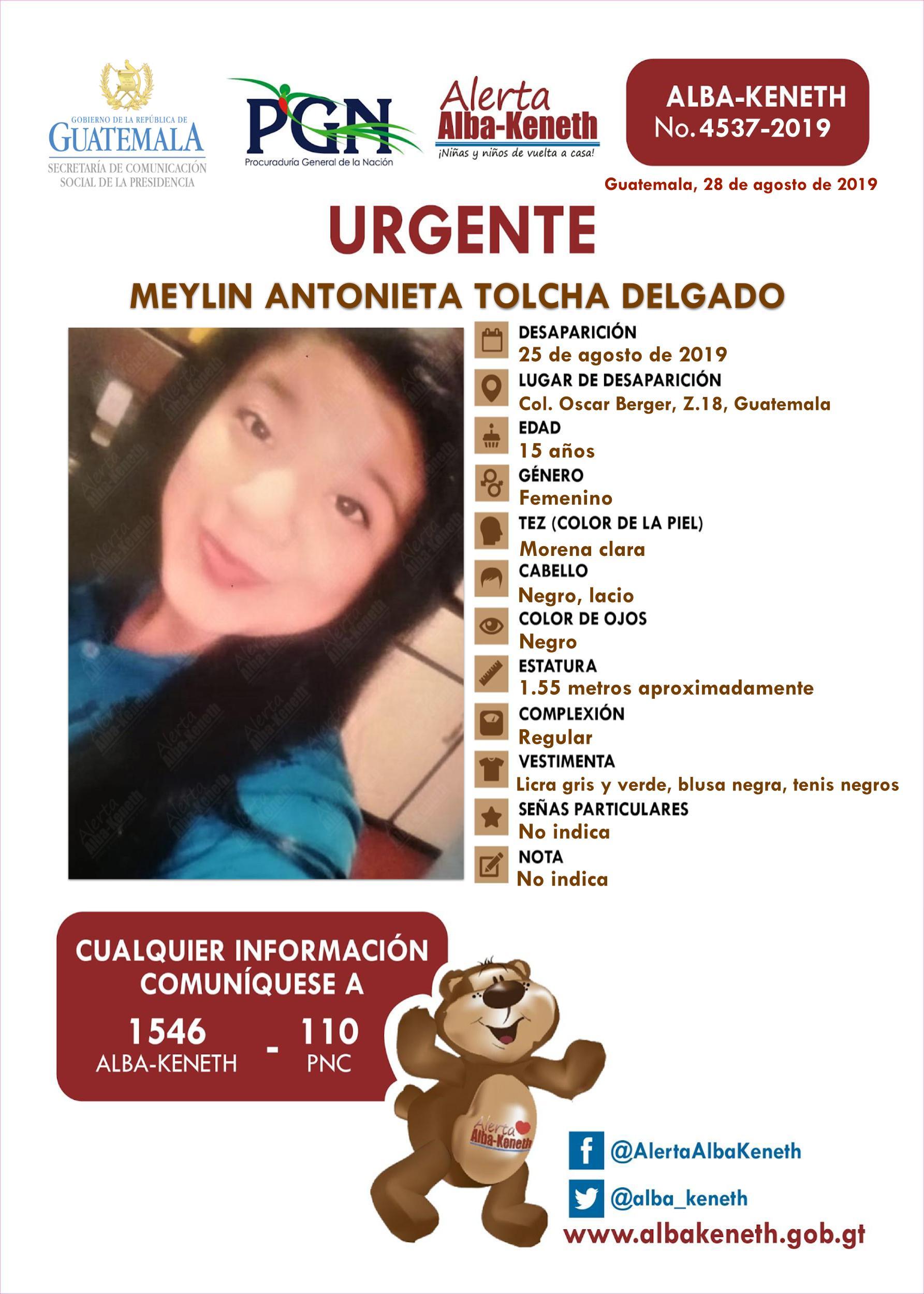 Meylin Antonieta Tolcha Delgado
