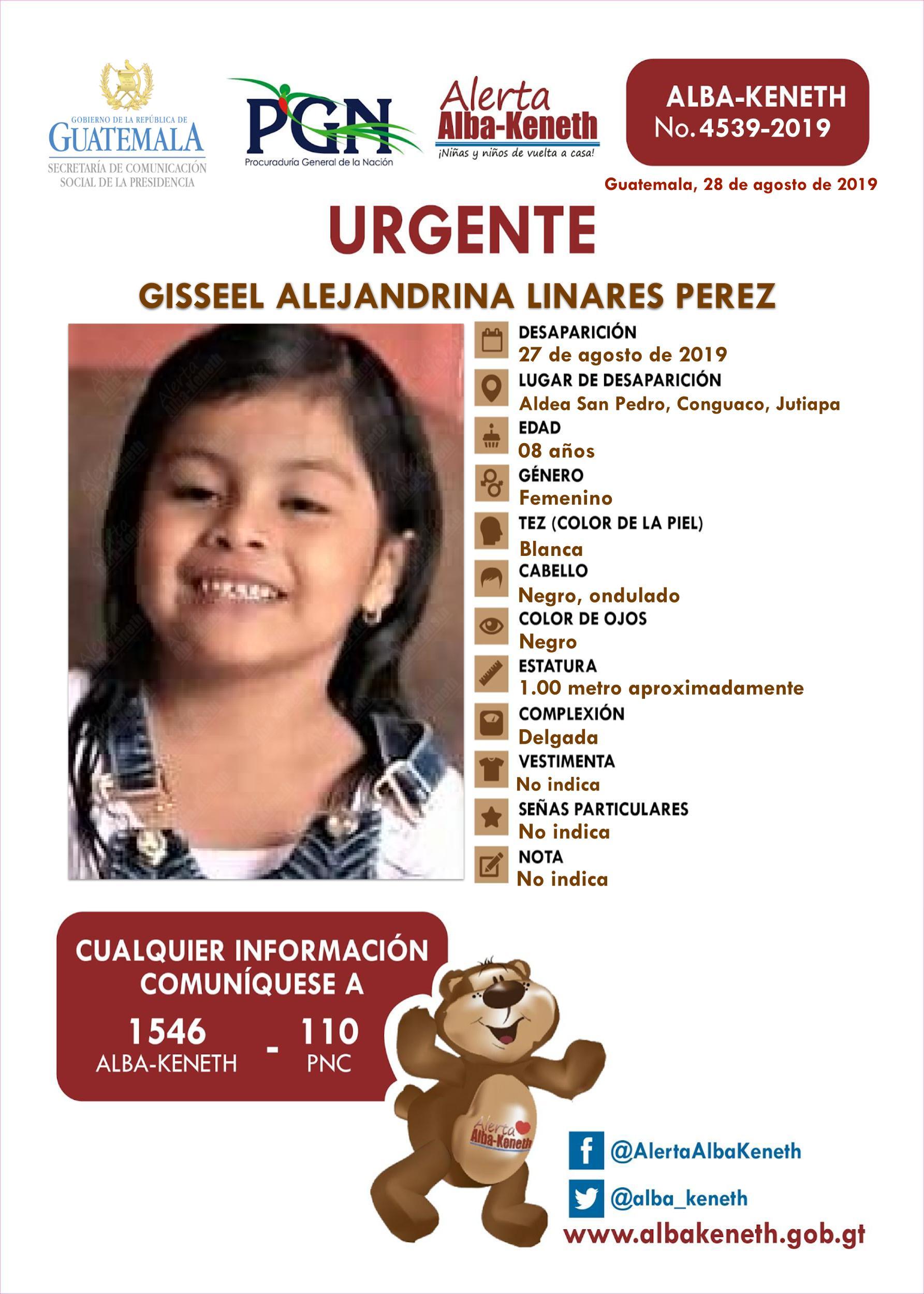 Giseel Alejandrina Linares Perez