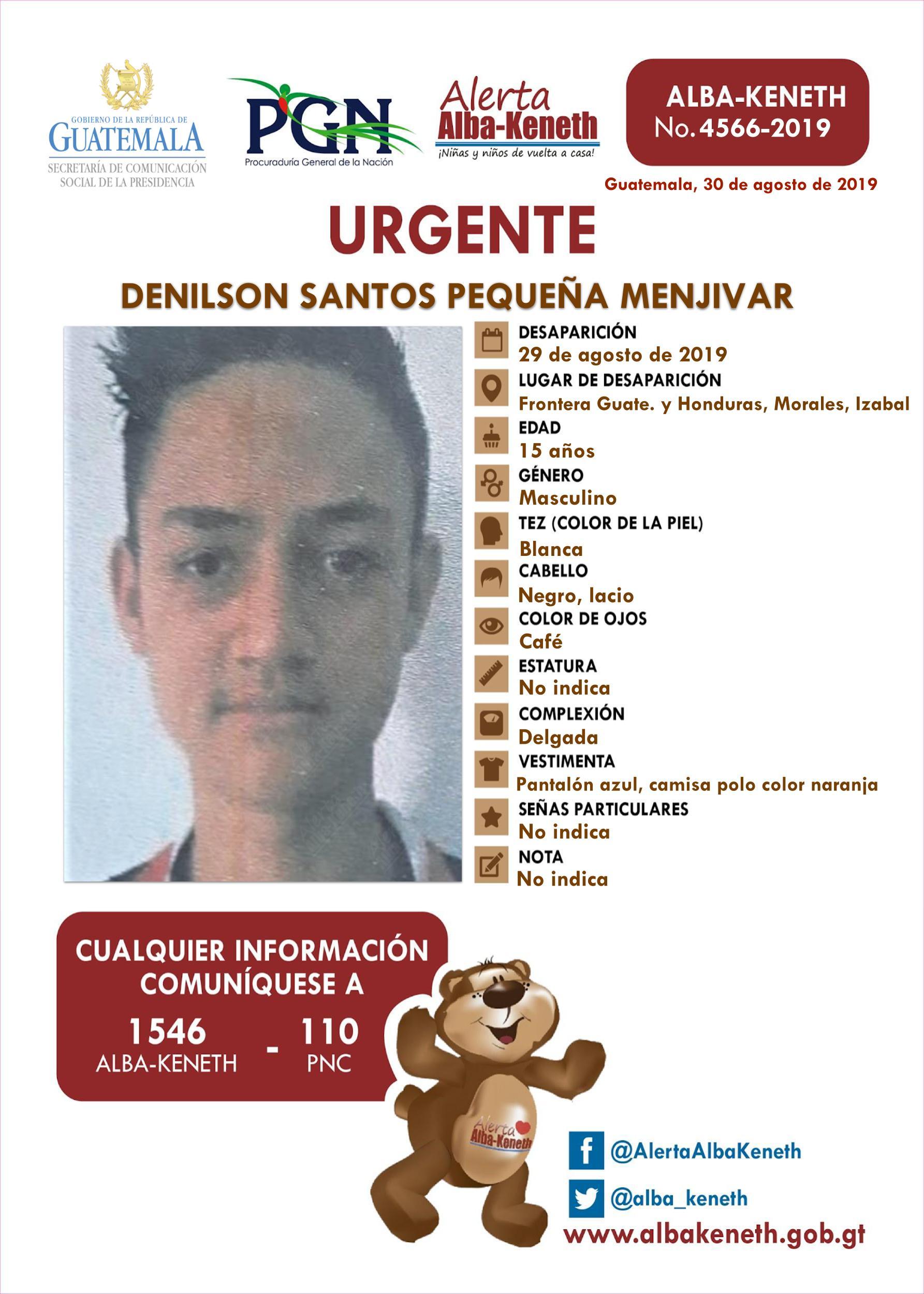 Denilson Santos Pequeña Menjivar