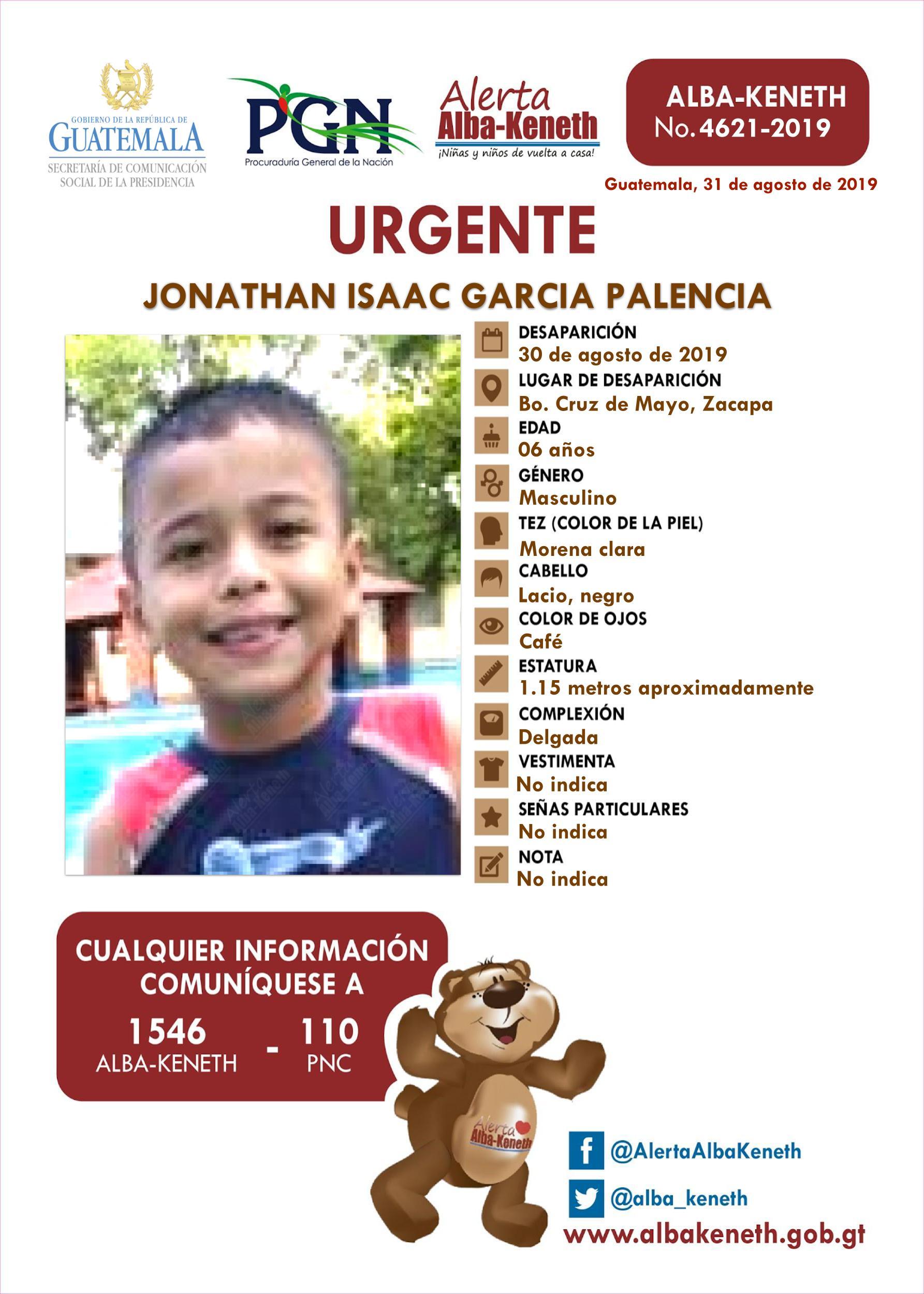 Jonathan Isaac Garcia Palencia