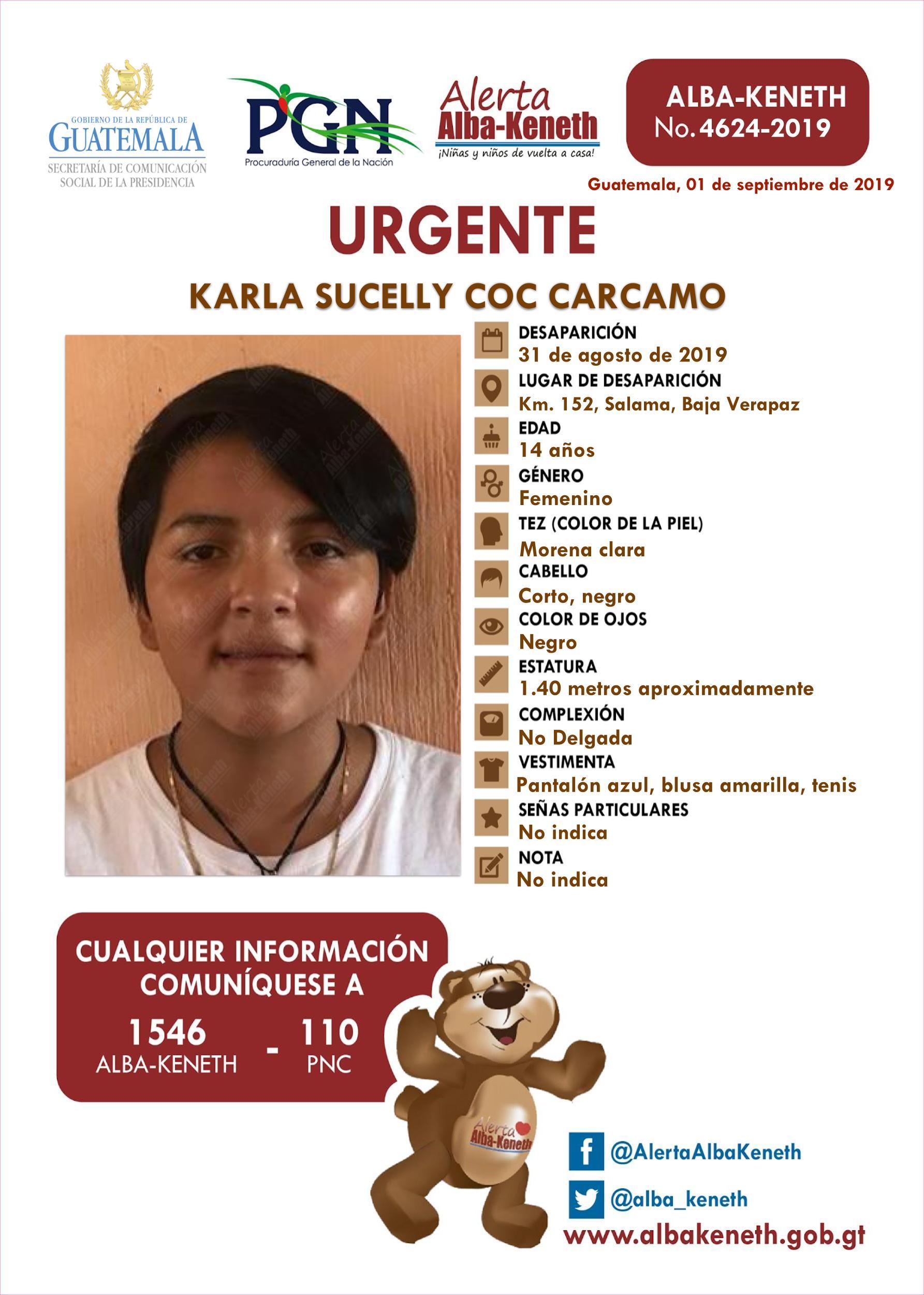 Karla Sucelly Coc Carcamo
