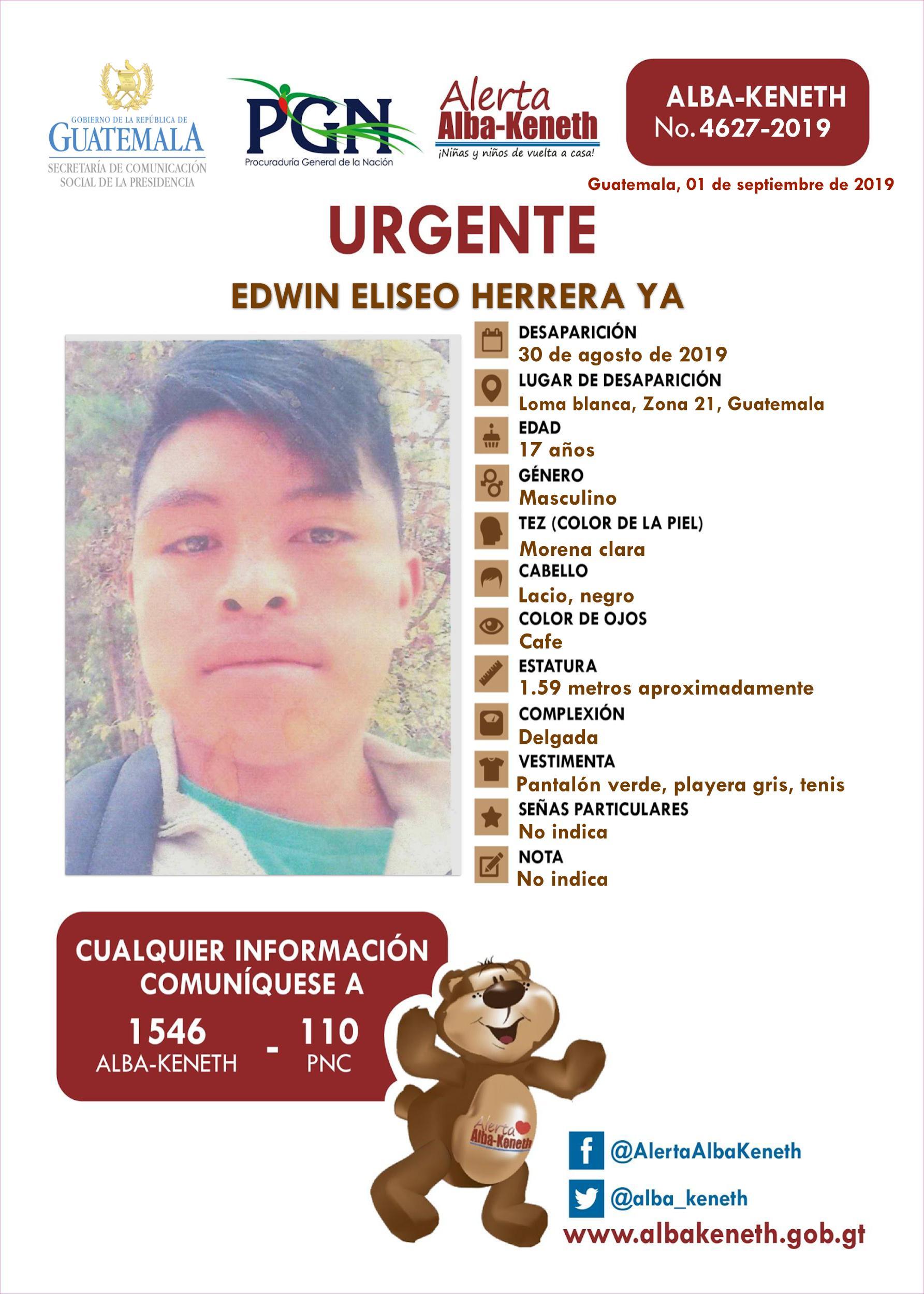 Edwin Eliseo Herrera Ya