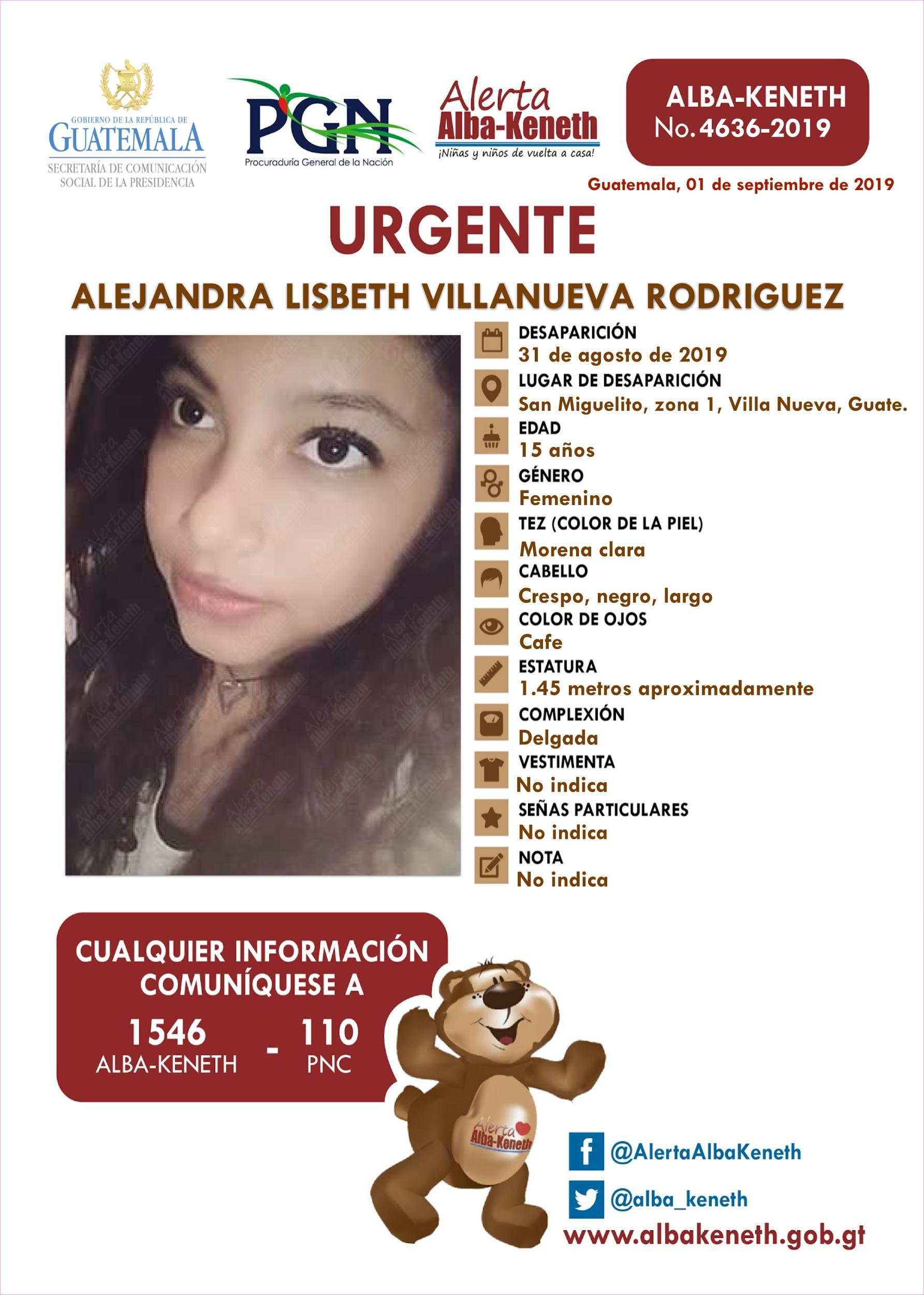 Alejandra Lisbeth Villanueva Rodriguez