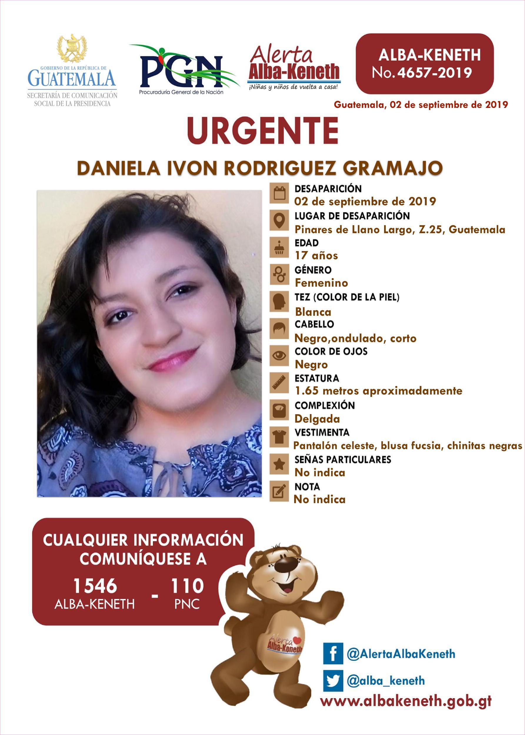 Daniela Ivon Rodriguez Gramajo