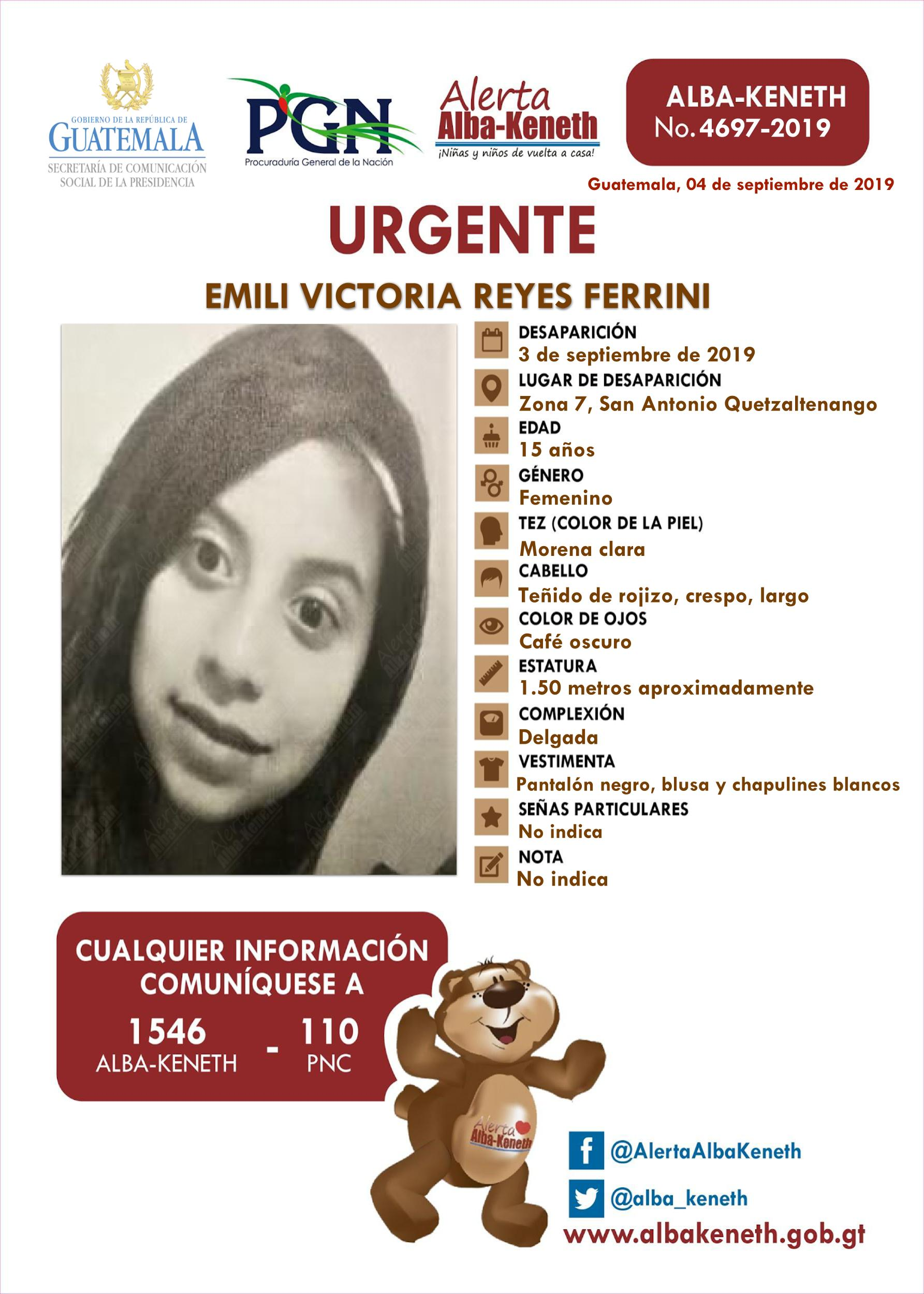 Emili Victoria Reyes Ferrini