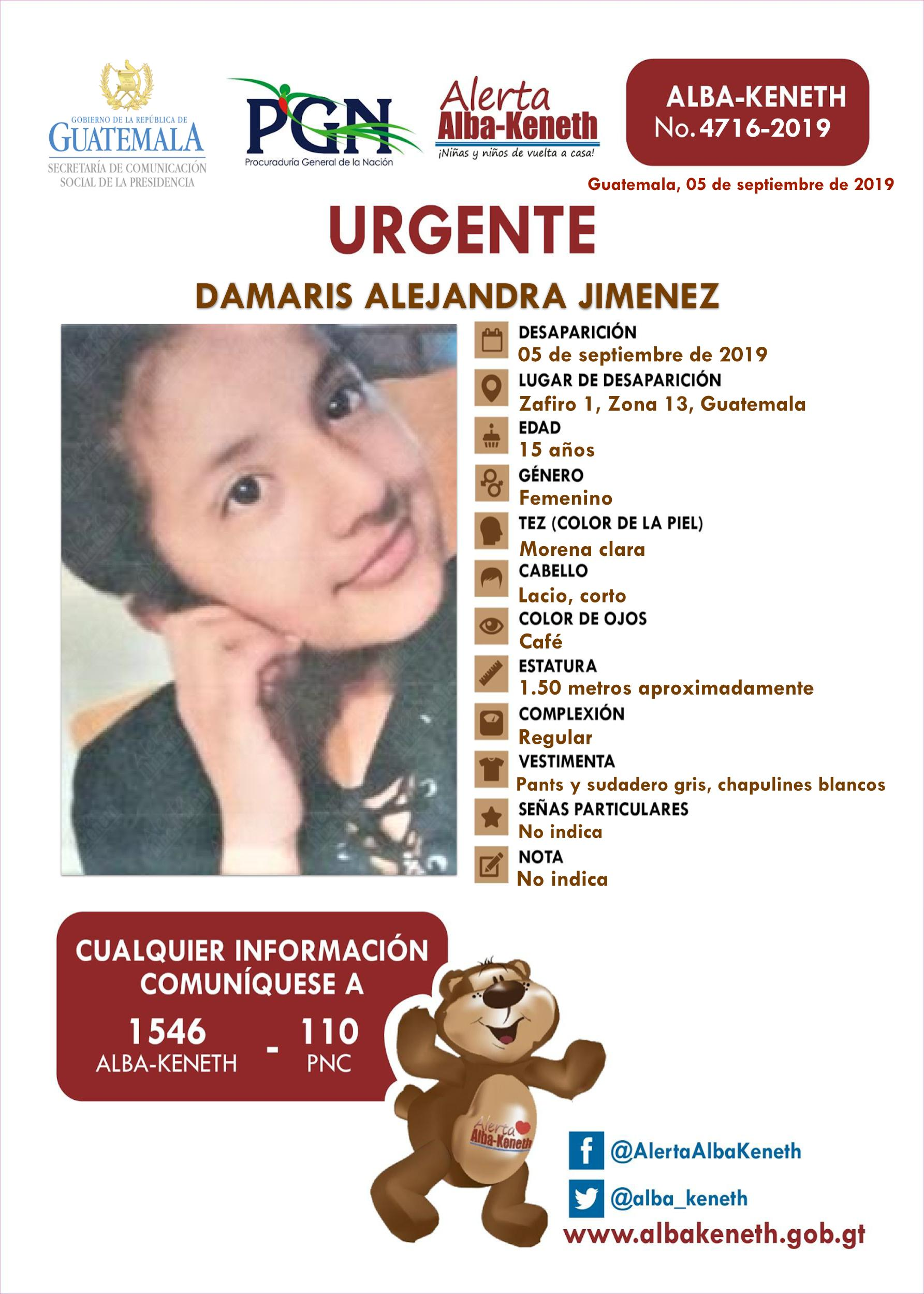 Damaris Alejandra Jimenez