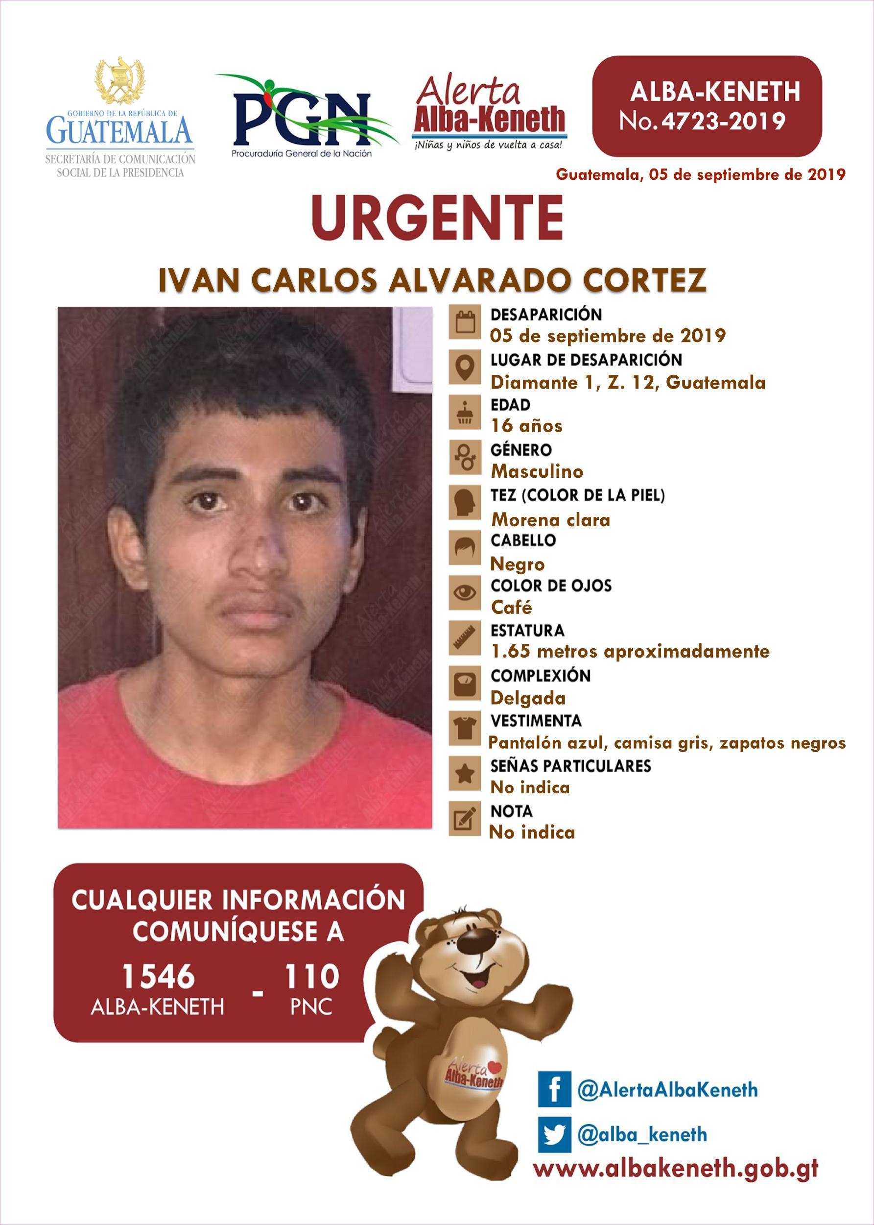 Ivan Carlos Alvarado Cortez
