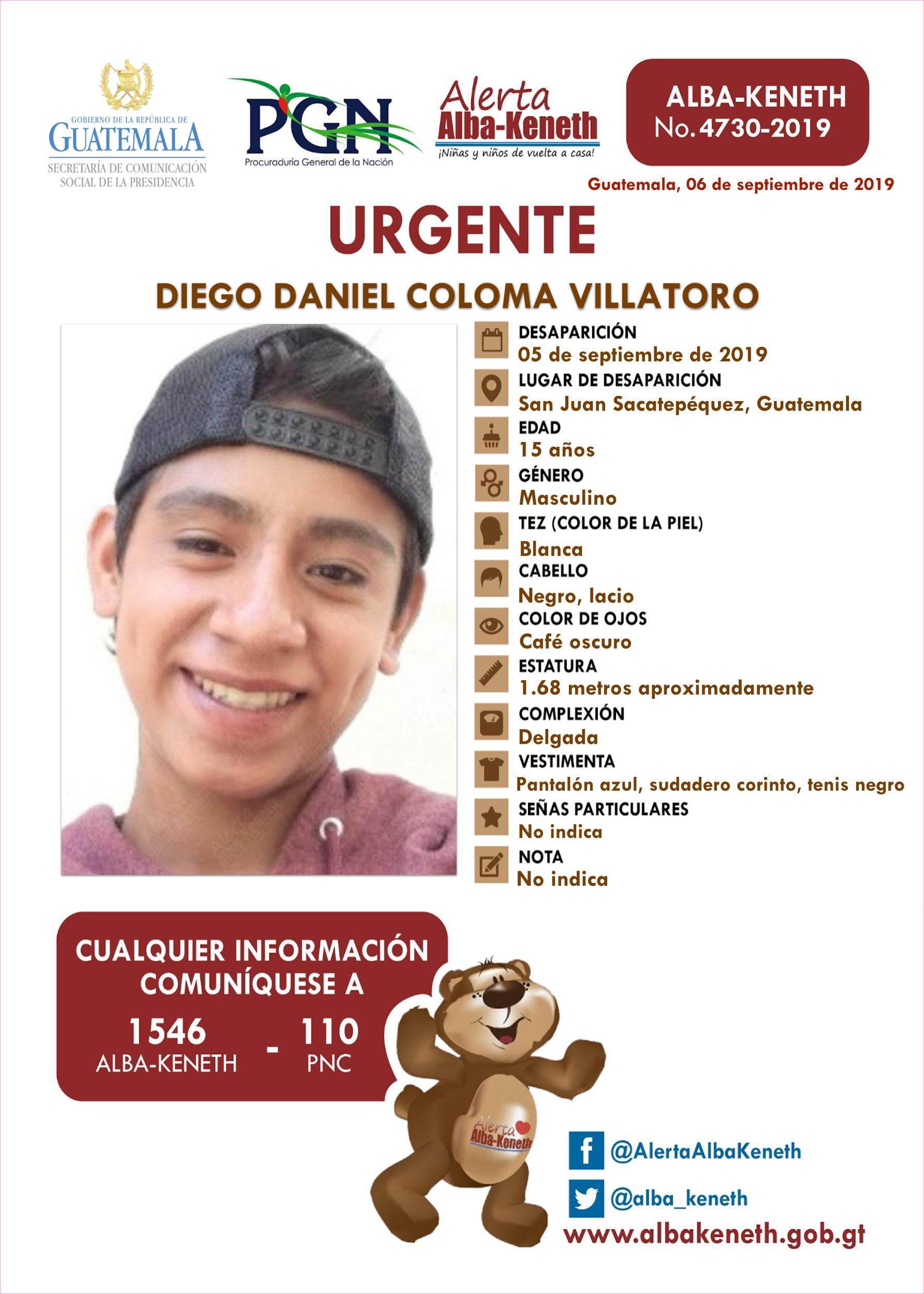 Diego Daniel Coloma Villatoro