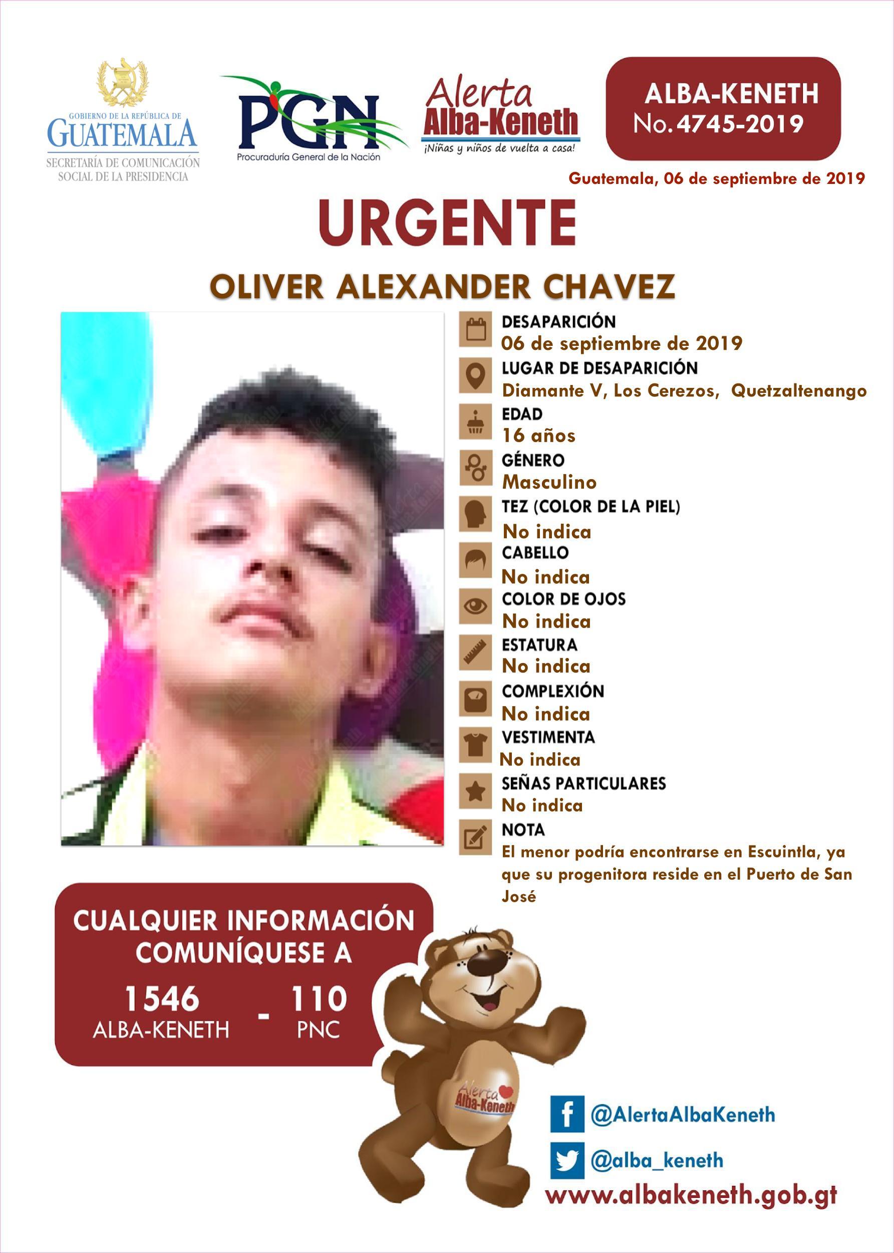 Oliver Alexander Chavez