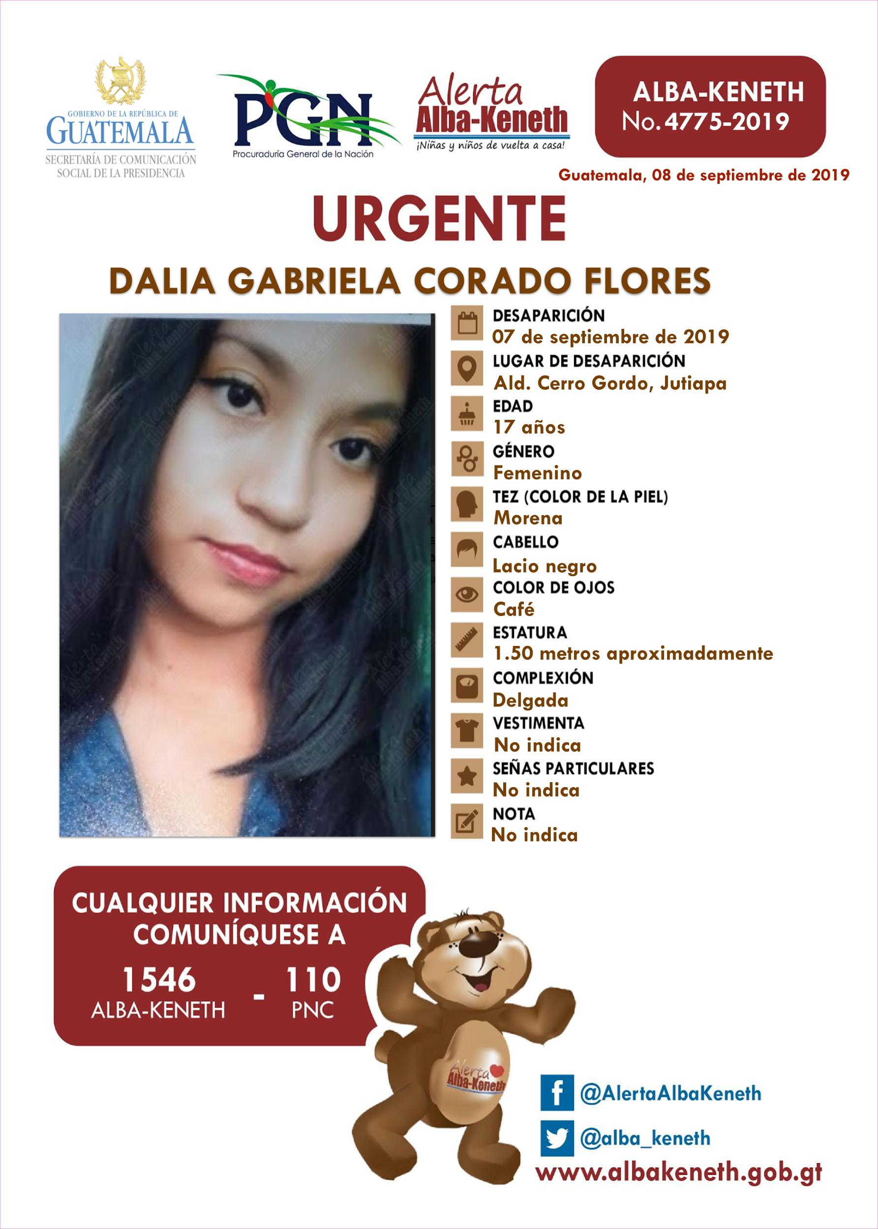 Dalia Gabriela Corado Flores