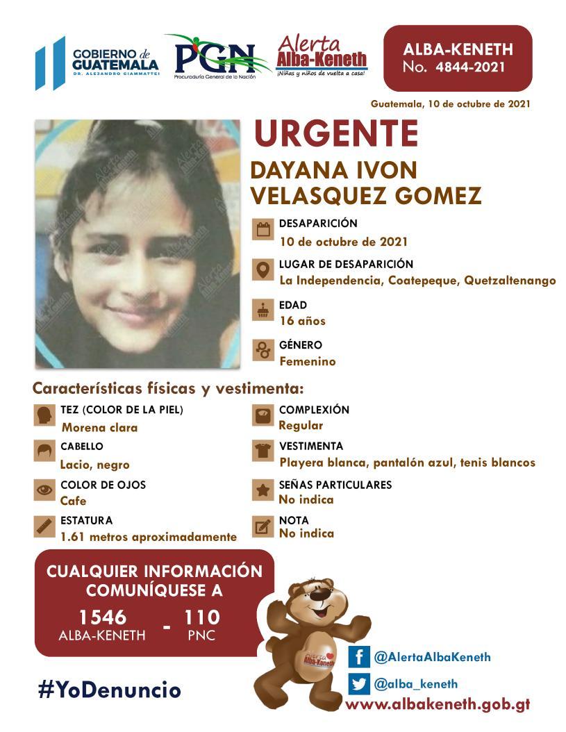 Dayana Ivon Velasquez Gomez