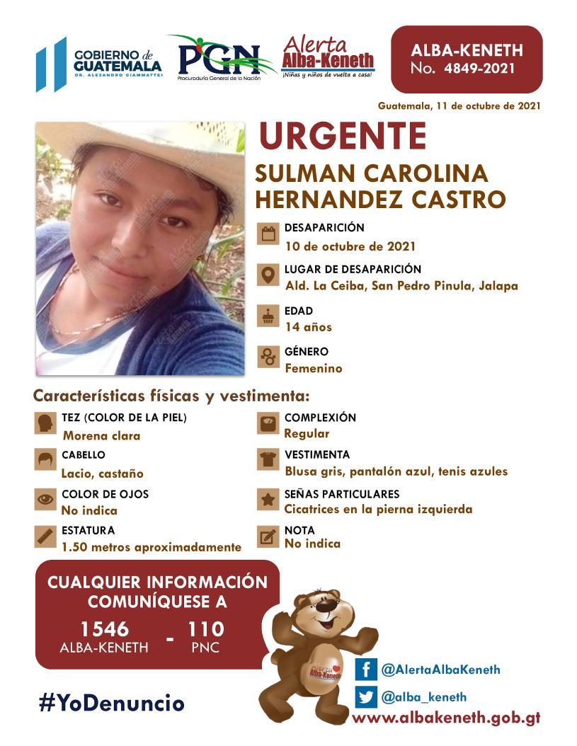 Sulma Carolina Hernandez Castro