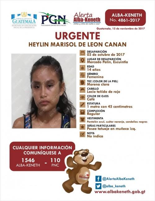 Heylin Marisol de Leon Canan