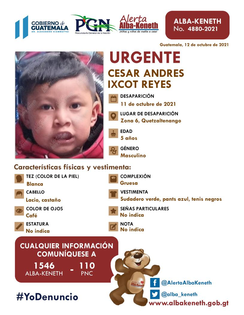 Cesar Andres Ixcot Reyes