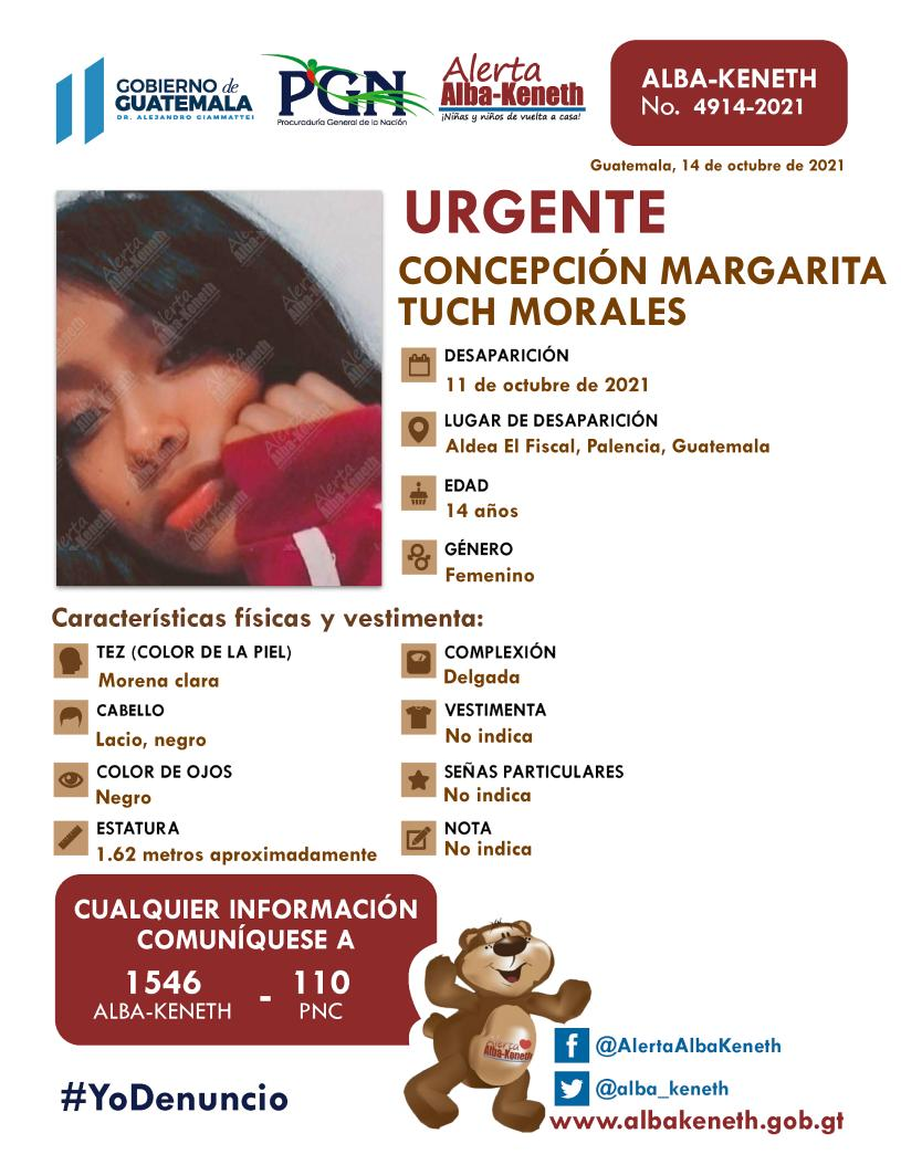 Concepción Margarita Tuch Morales
