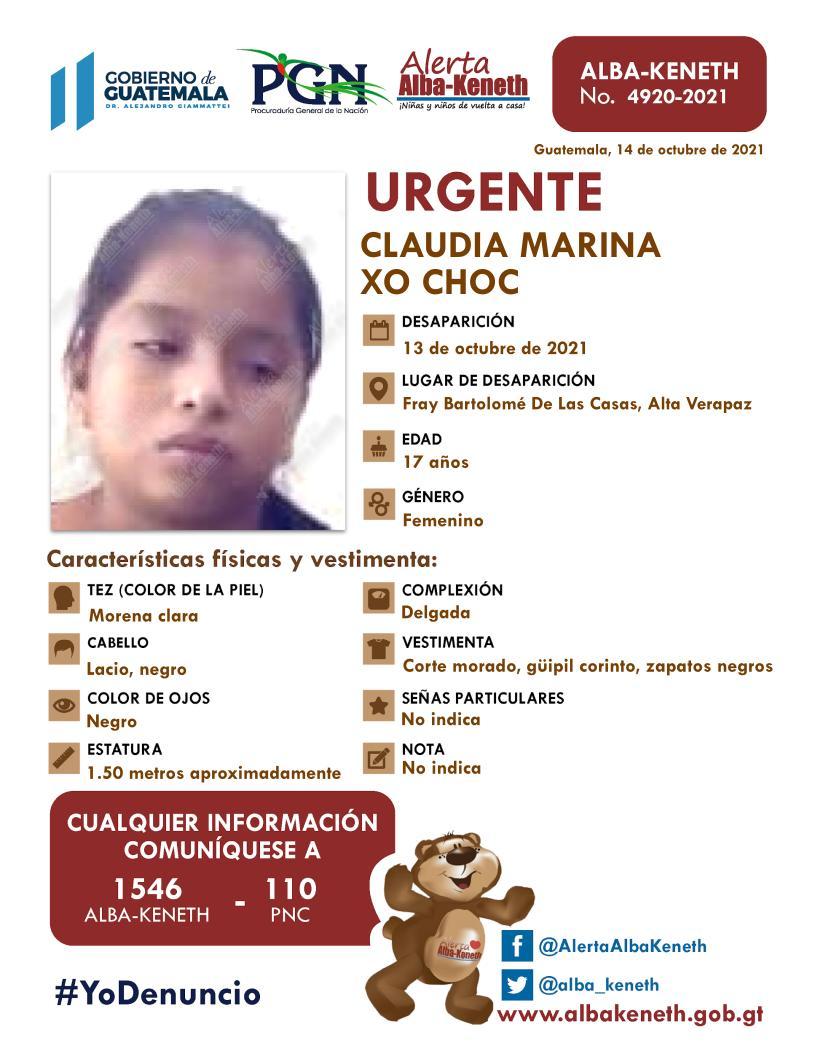 Claudia Marina Xo Choc