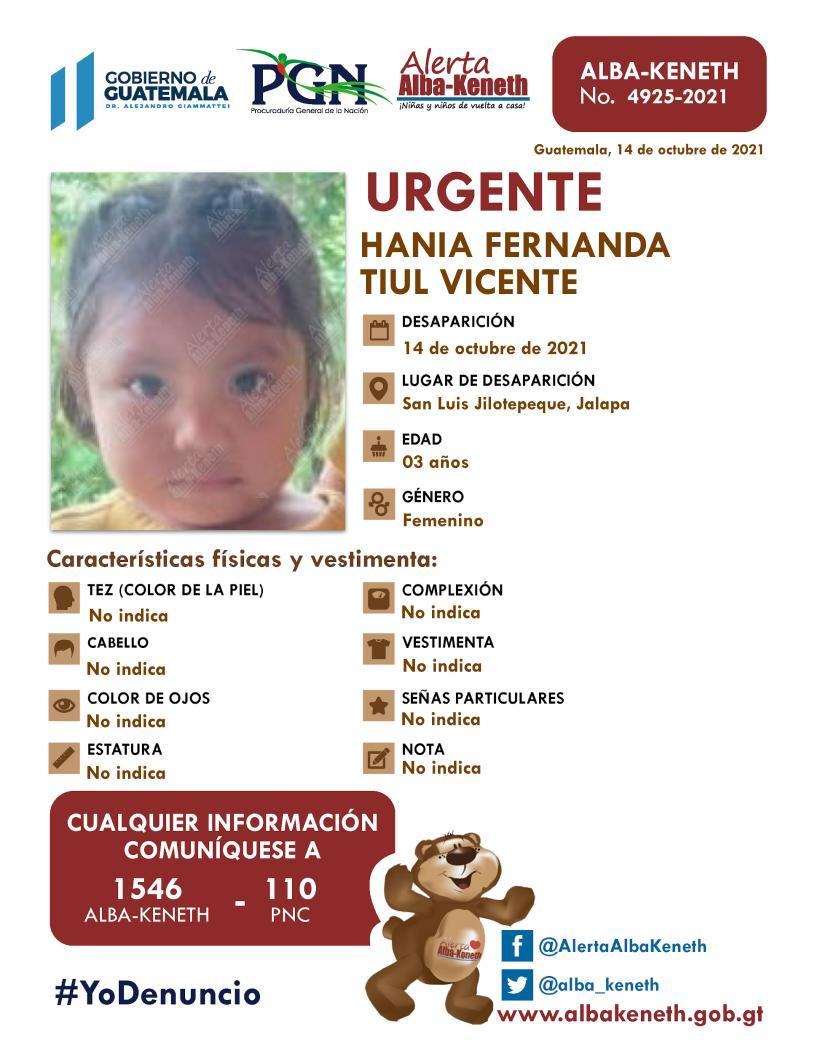 Hania Fernanda Tiul Vicente
