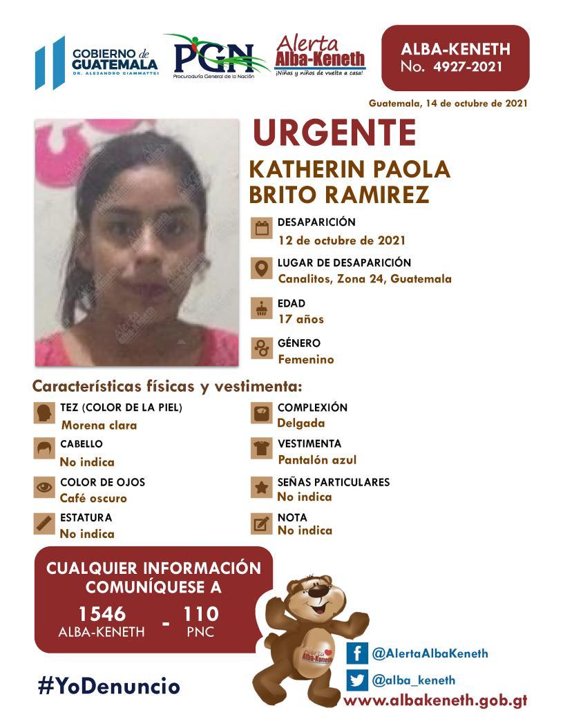 Katherin Paola Brito Ramírez