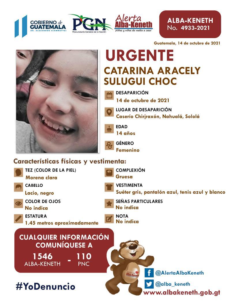 Catarina Aracely Sulugui Choc
