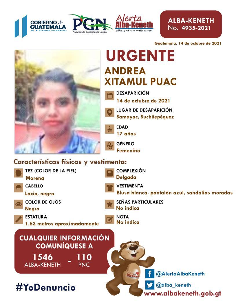 Andrea Xitamul Puac
